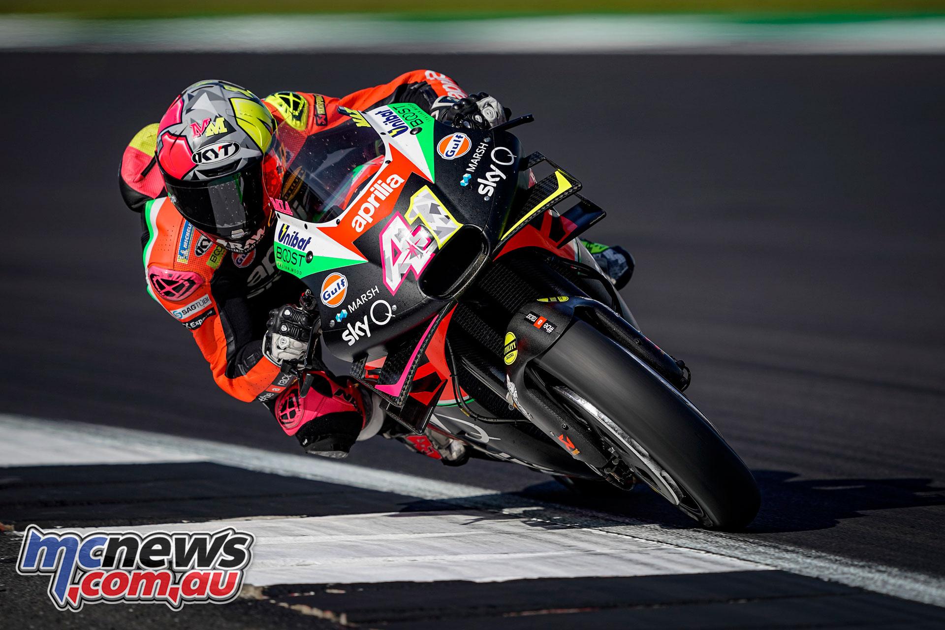 MotoGP Rnd Silverstone Aleix Espargaro