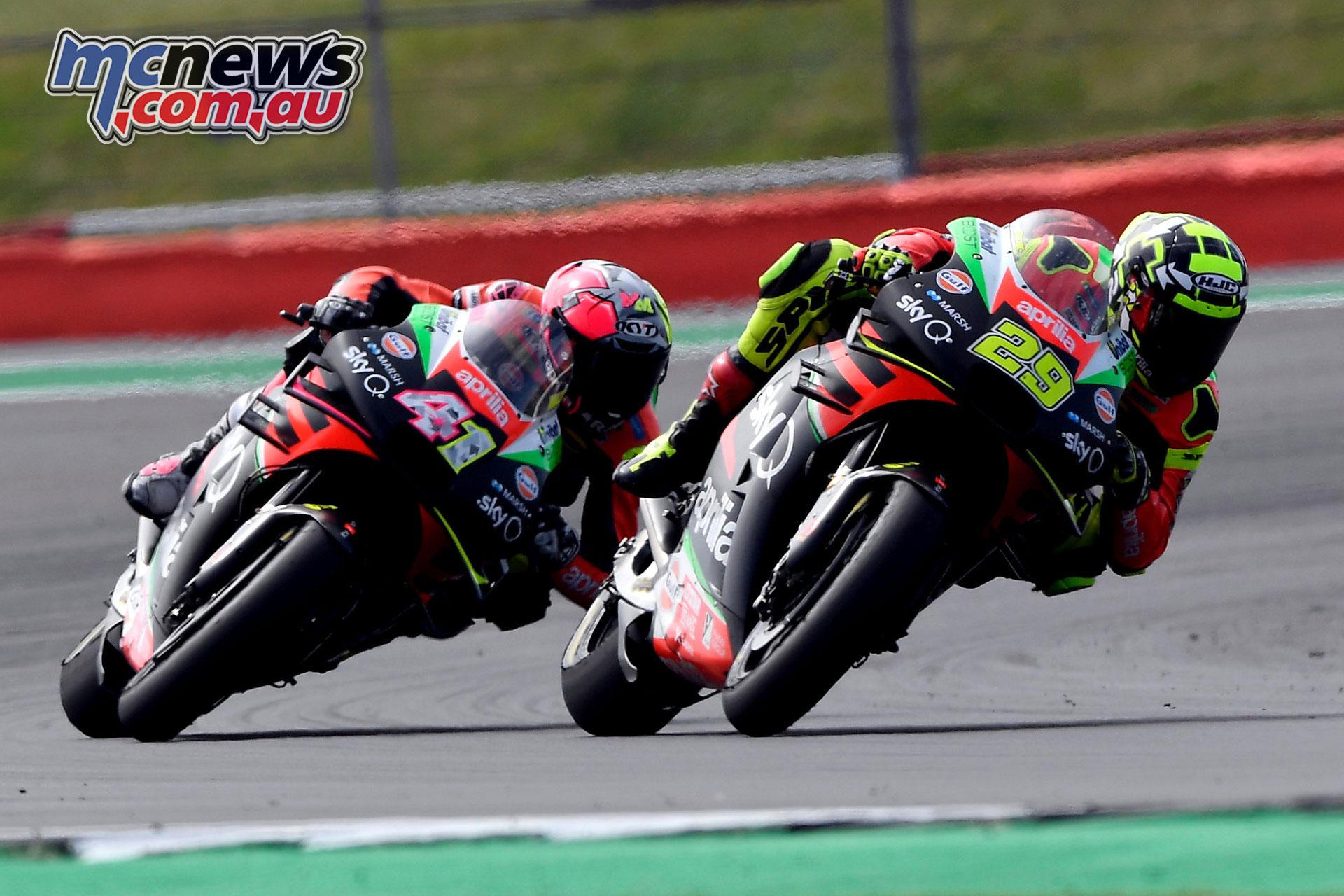 MotoGP Rnd Silverstone Andrea Iannone