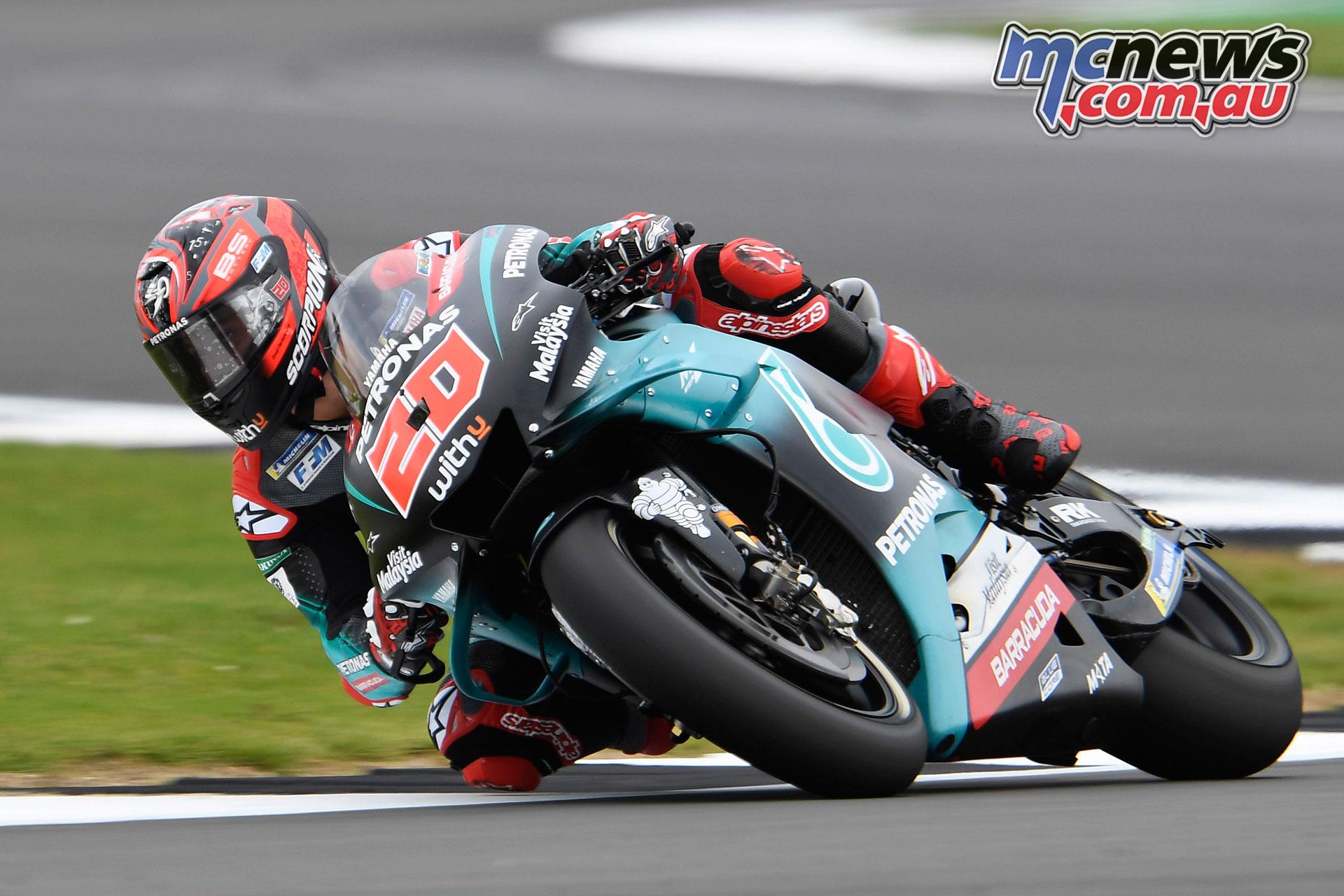 MotoGP Rnd Silverstone Fabio Quartararo