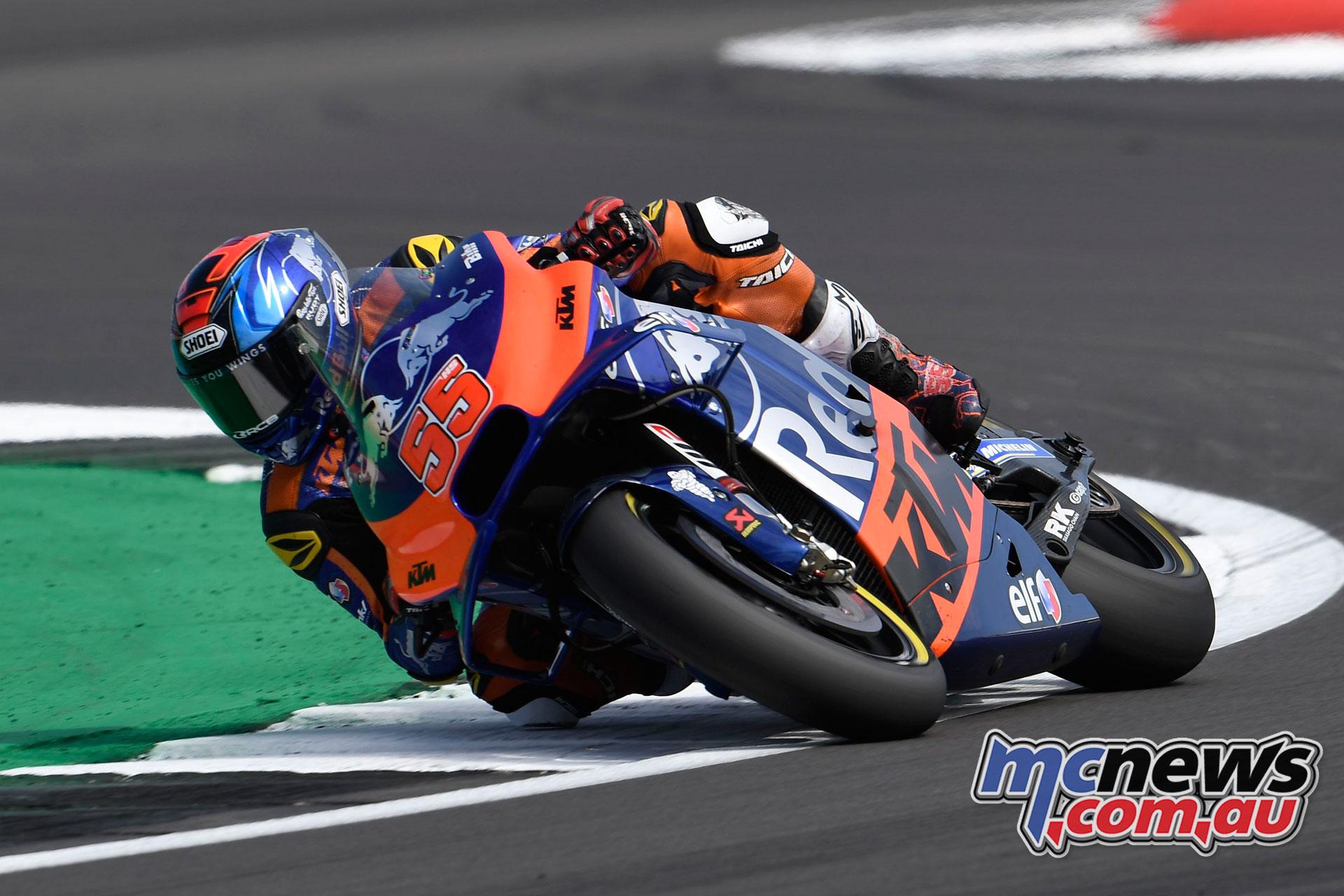 MotoGP Rnd Silverstone Hafizh Syahrin
