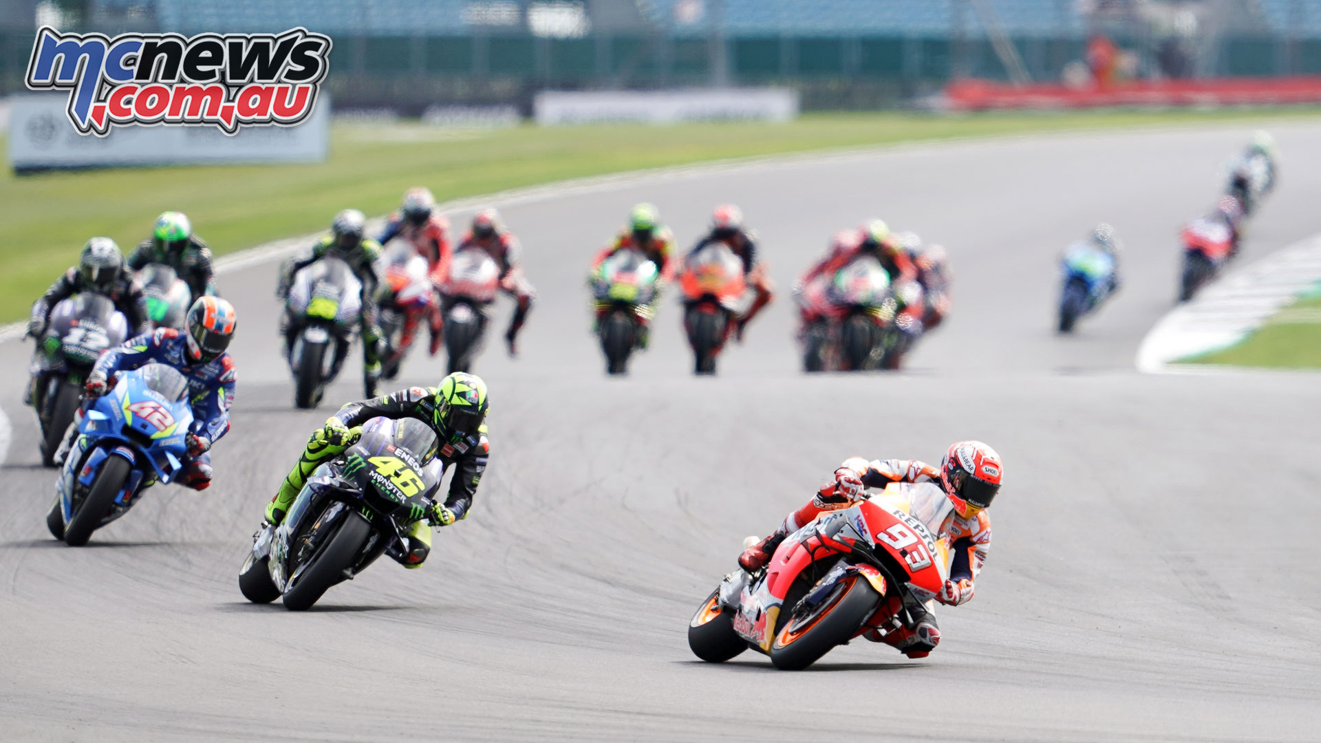 MotoGP Rnd Silverstone Marquez