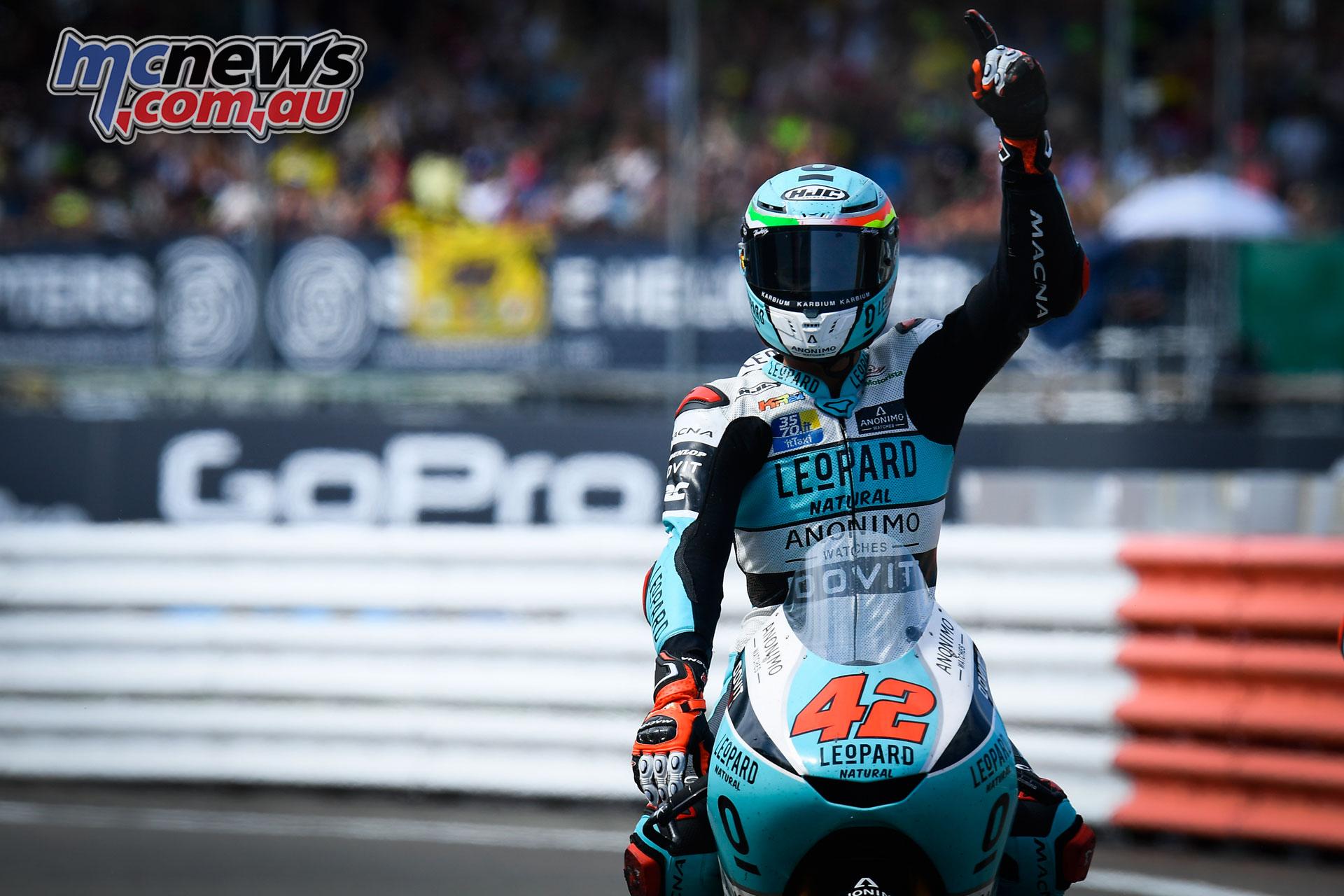 MotoGP Rnd Silverstone Moto Marcos Ramirez