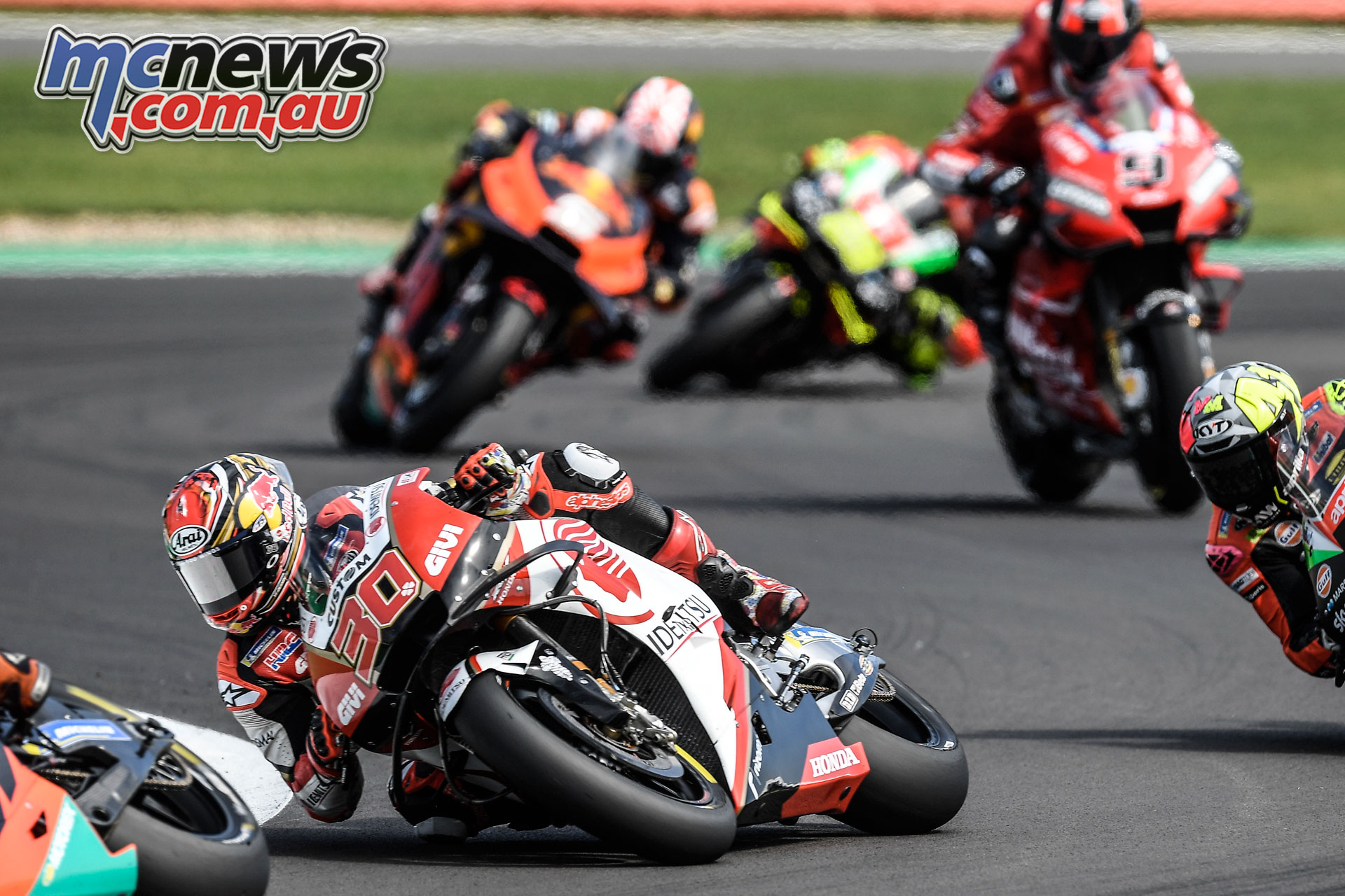 MotoGP Rnd Silverstone Nakagami G