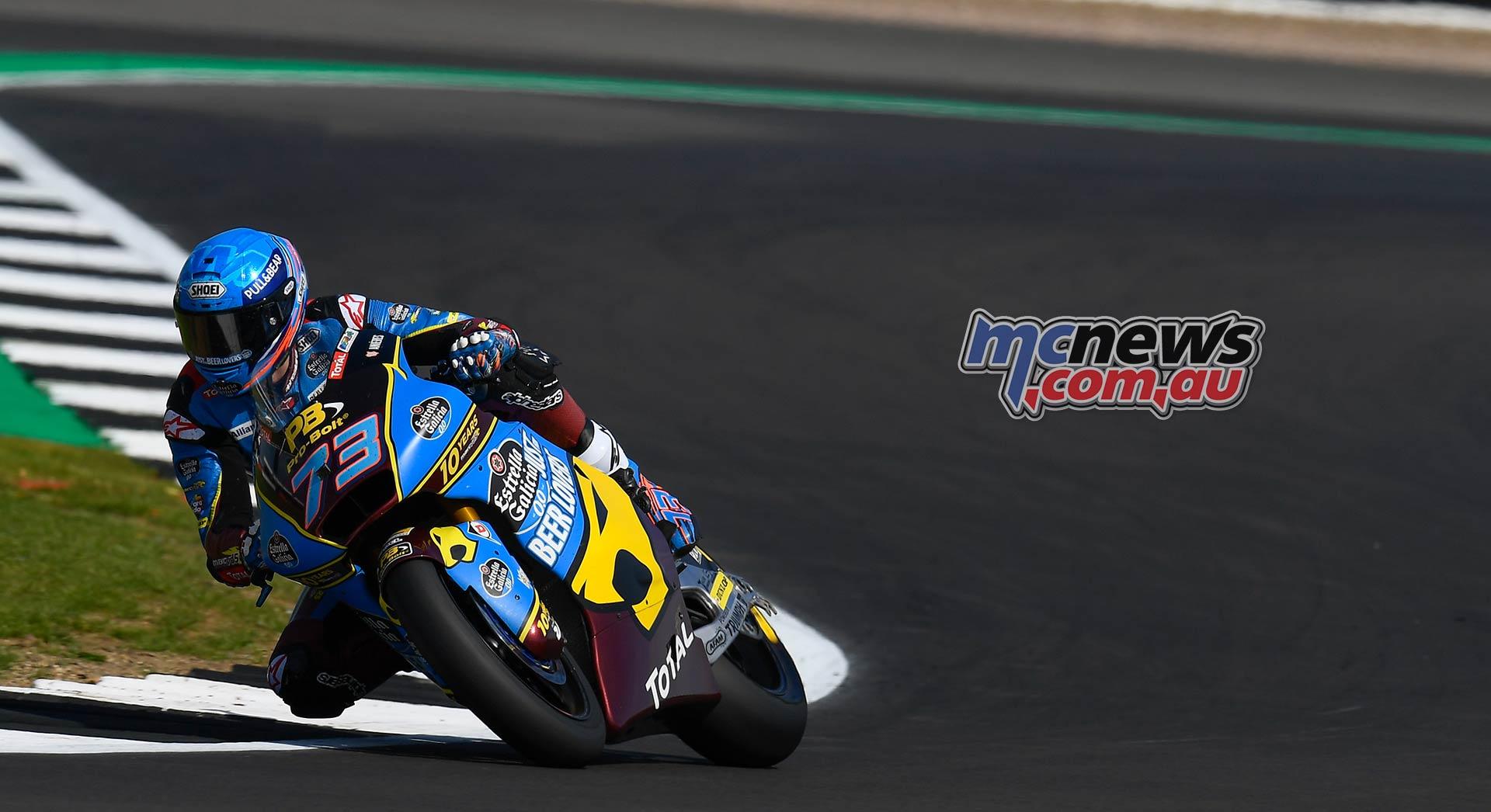 MotoGP Rnd Silverstone QP Alex Marquez