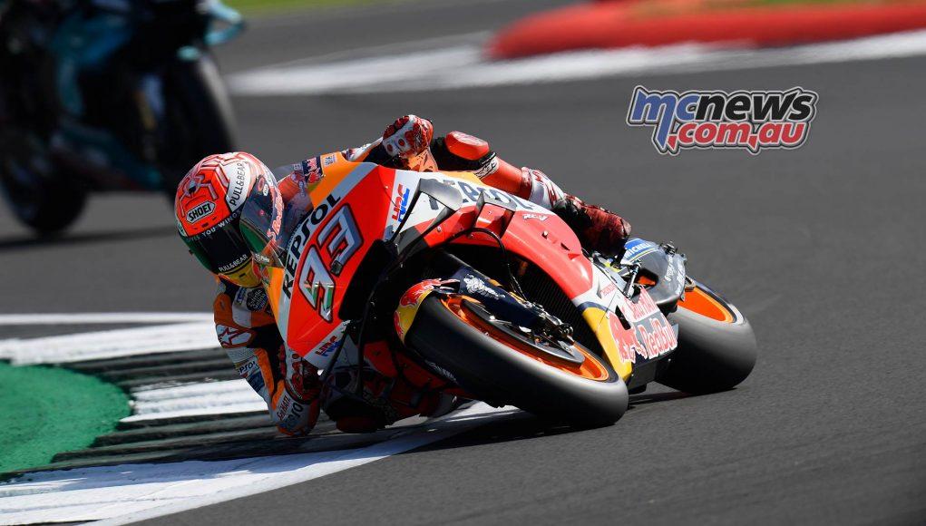 MotoGP Rnd Silverstone QP Marquez