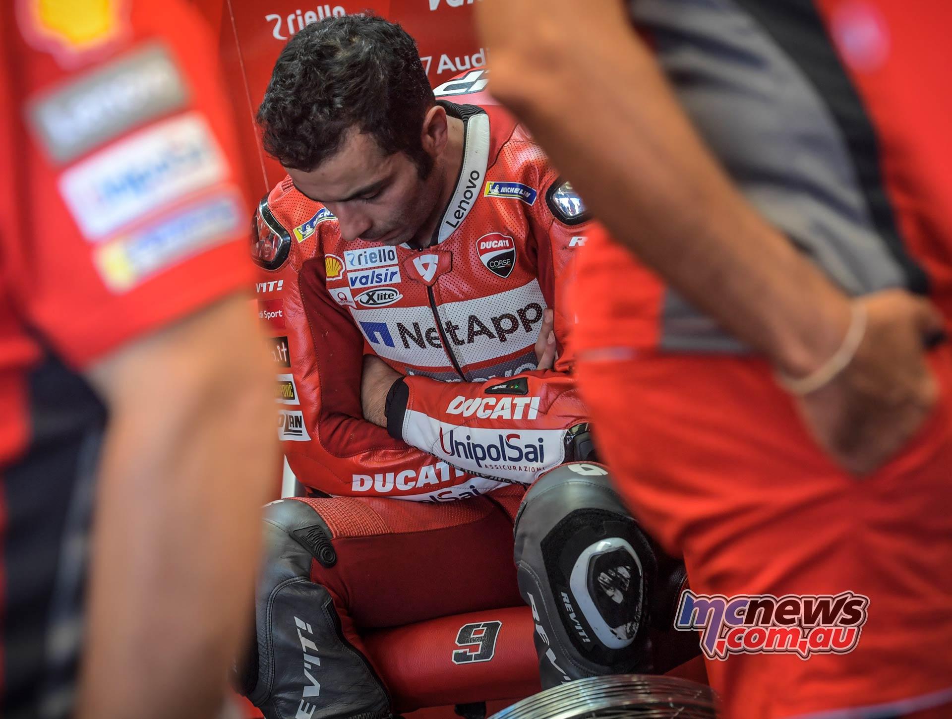 MotoGP Rnd Silverstone QP Petrucci