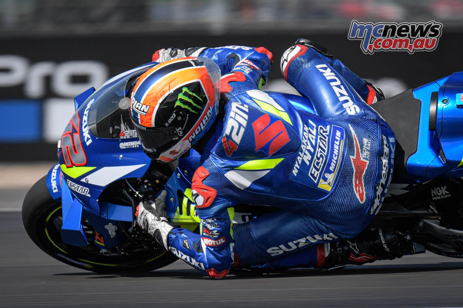 MotoGP Rnd Silverstone QP Rins