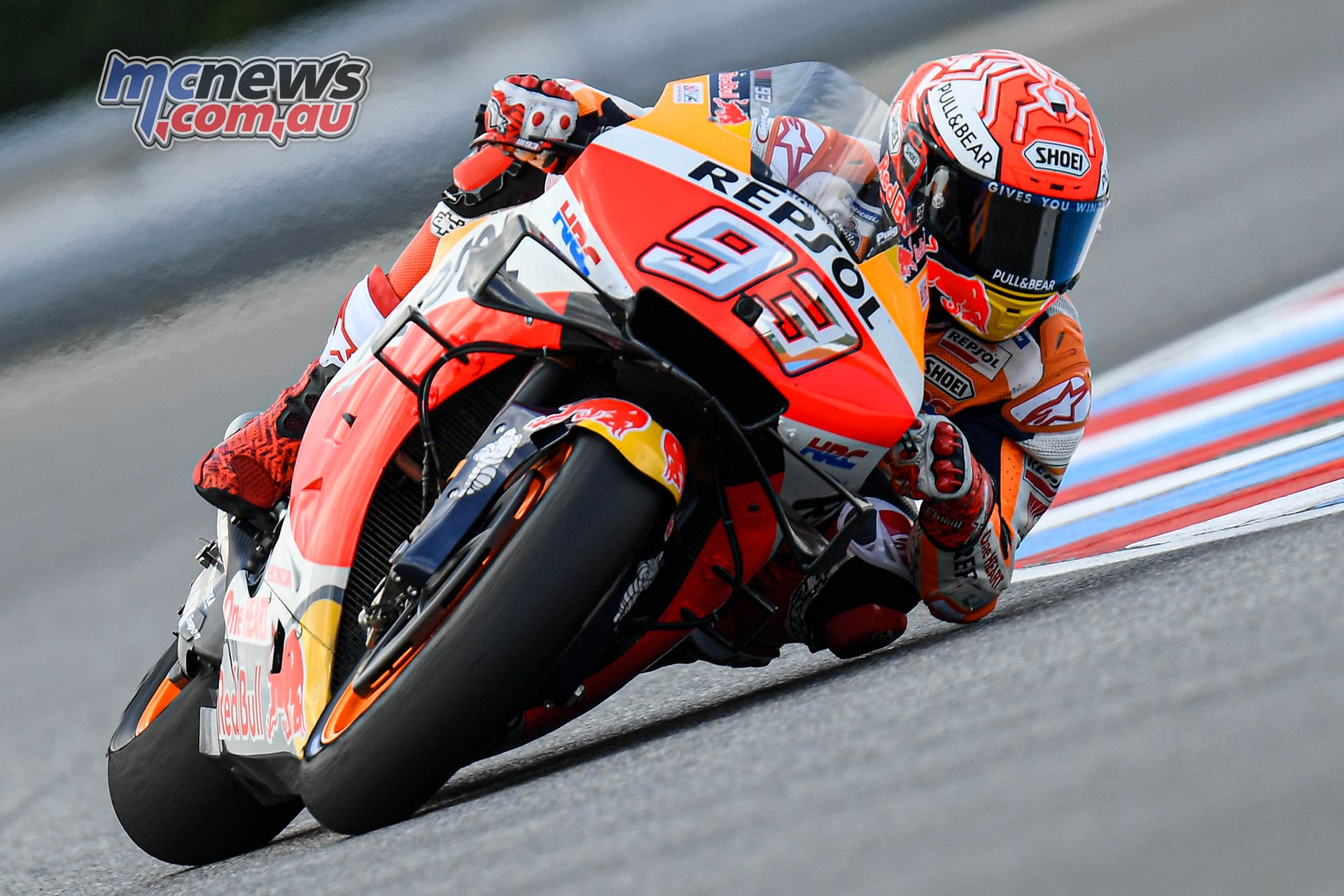 MotoGP Round Brno Fri Marquez Elbow