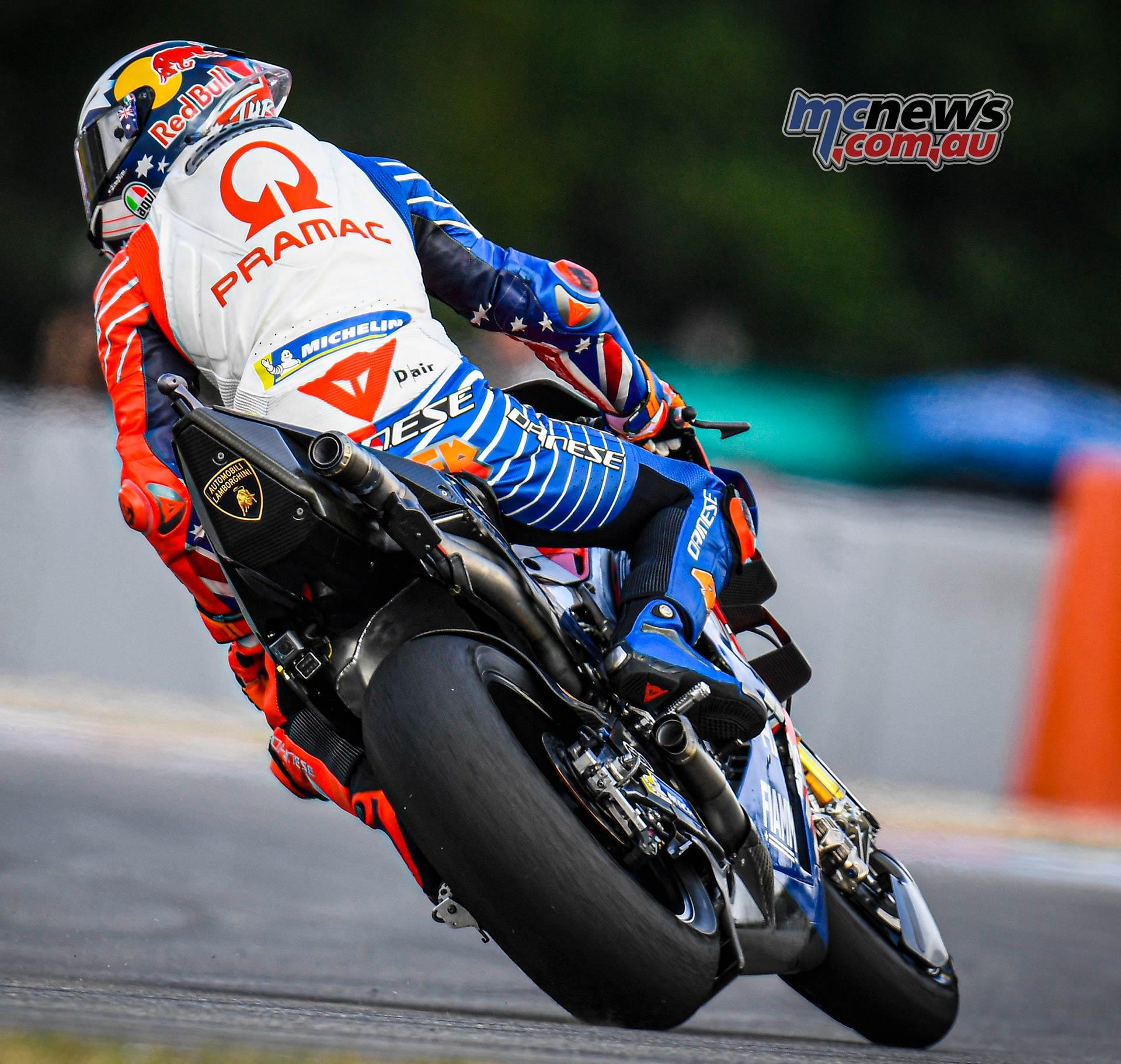 MotoGP Round Brno Fri Miller
