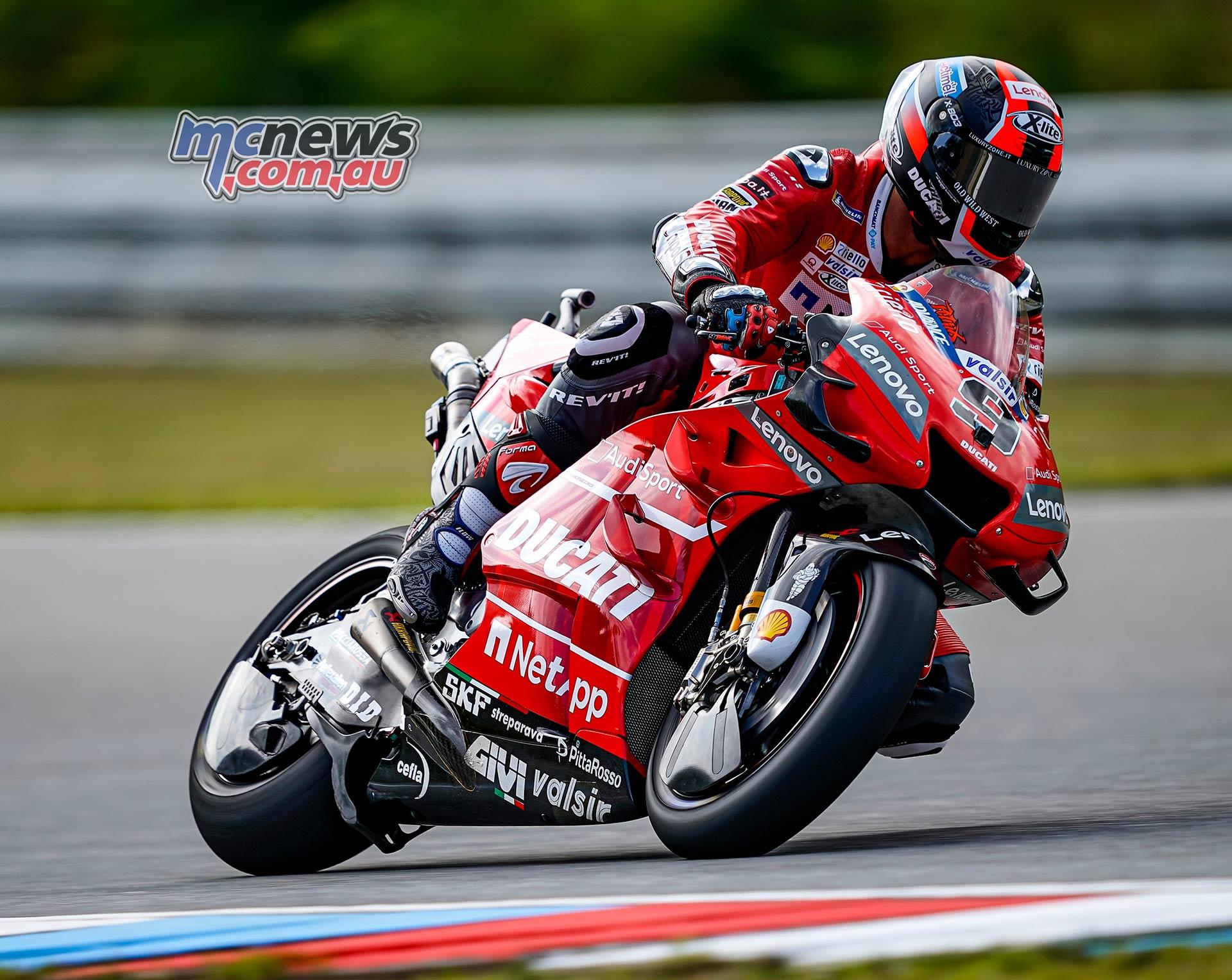 MotoGP Round Brno Fri Petrucci
