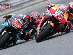 MotoGP Round Brno Fri Quartararo Marquez
