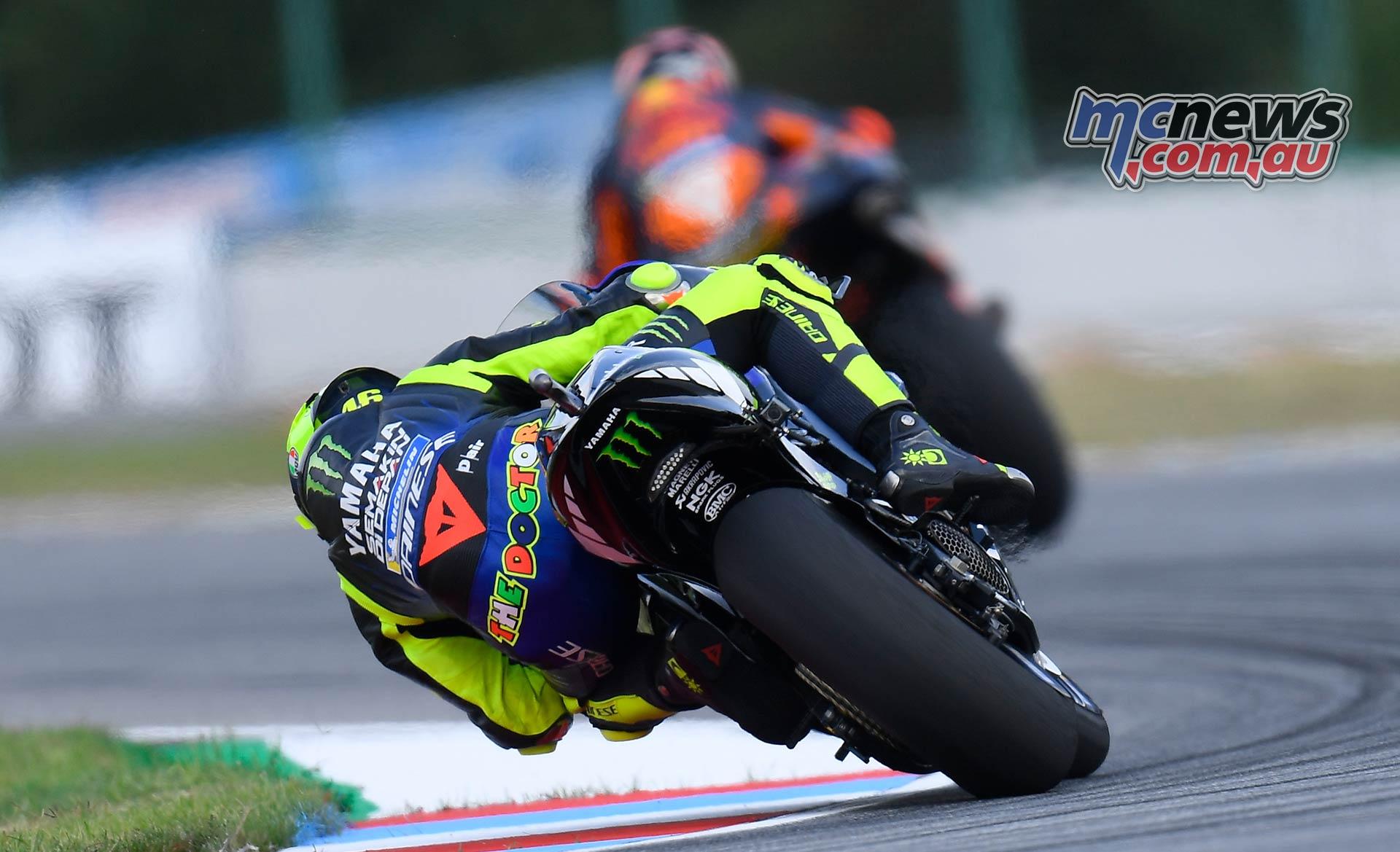MotoGP Round Brno Fri Rossi