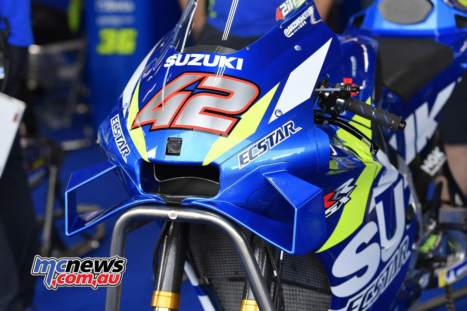 MotoGP Round Brno Fri Suzuki Aero Rins