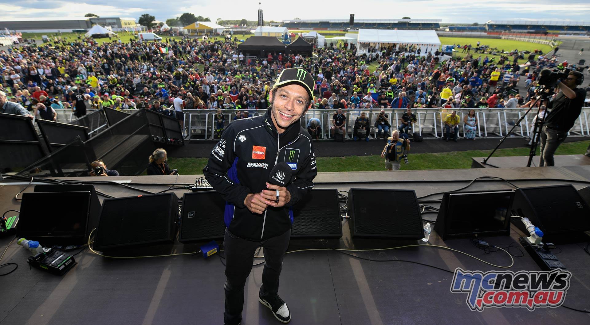 MotoGP Silverstone Pre Rossi