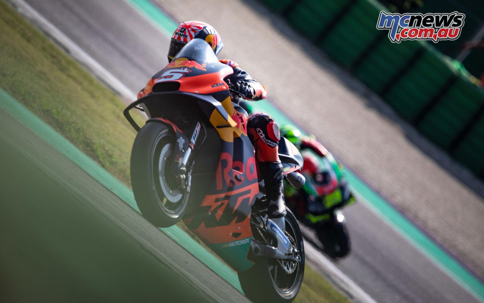 MotoGP Test Misano D Johann Zarco