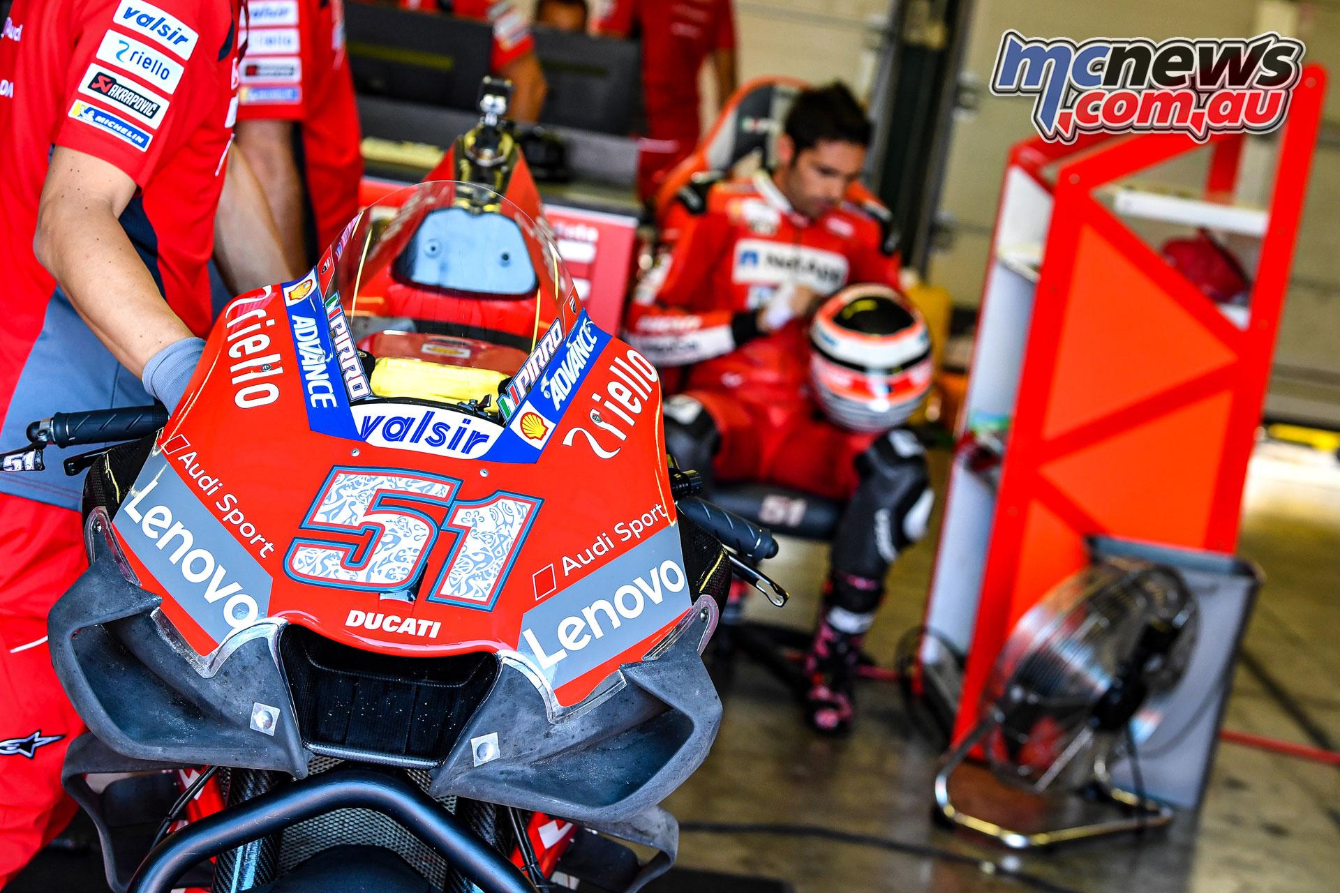 MotoGP Test Misano D Pirro