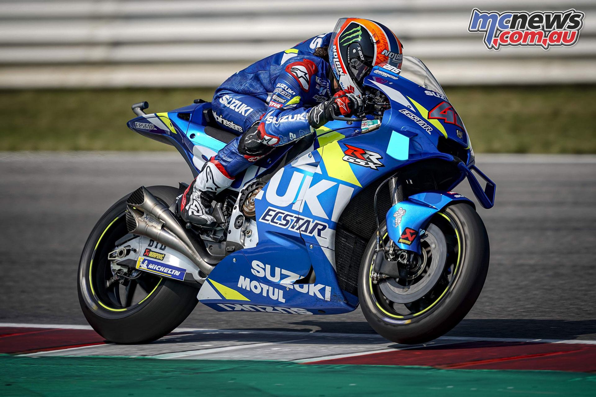 MotoGP Test Misano D alex rins