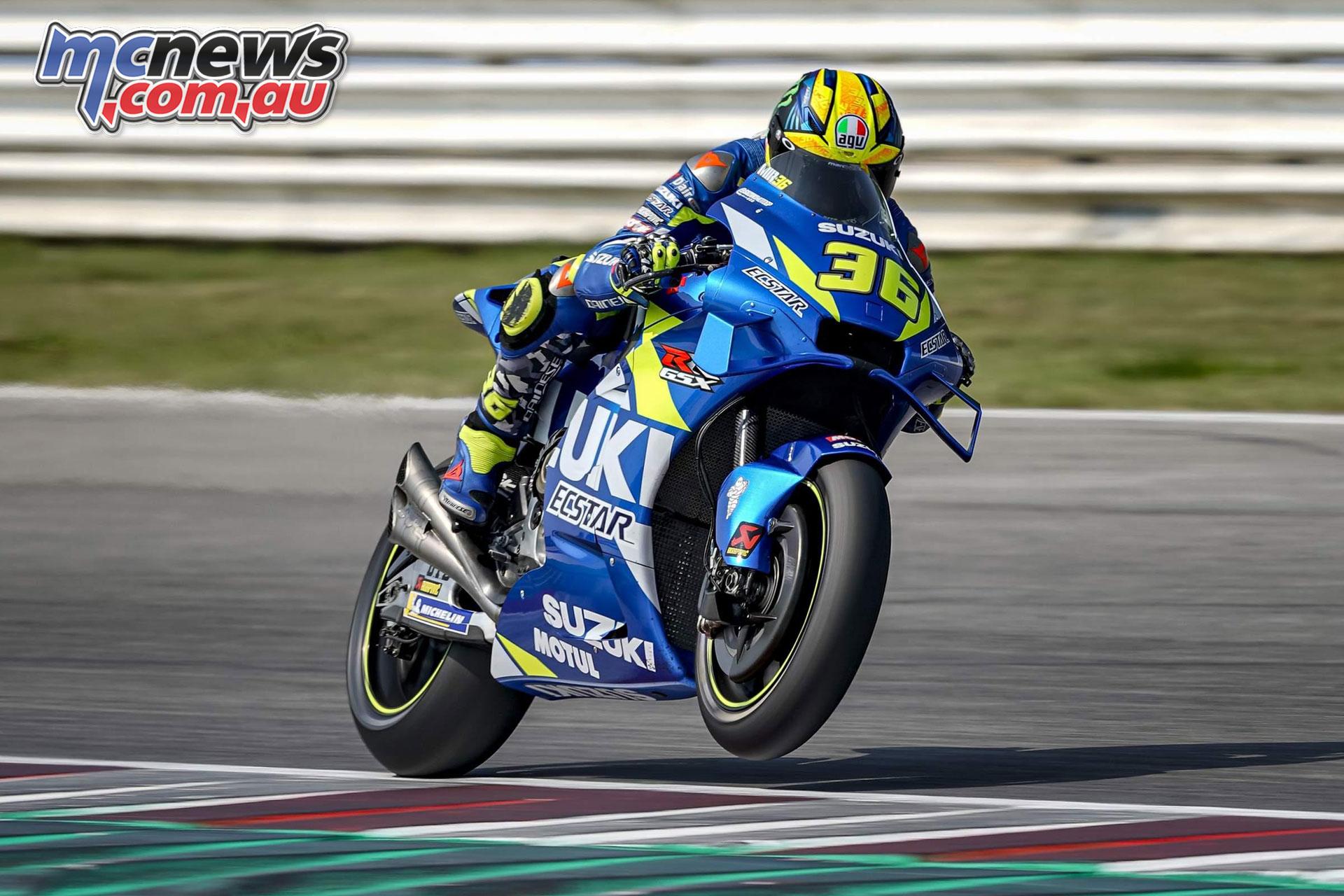 MotoGP Test Misano D joan mir