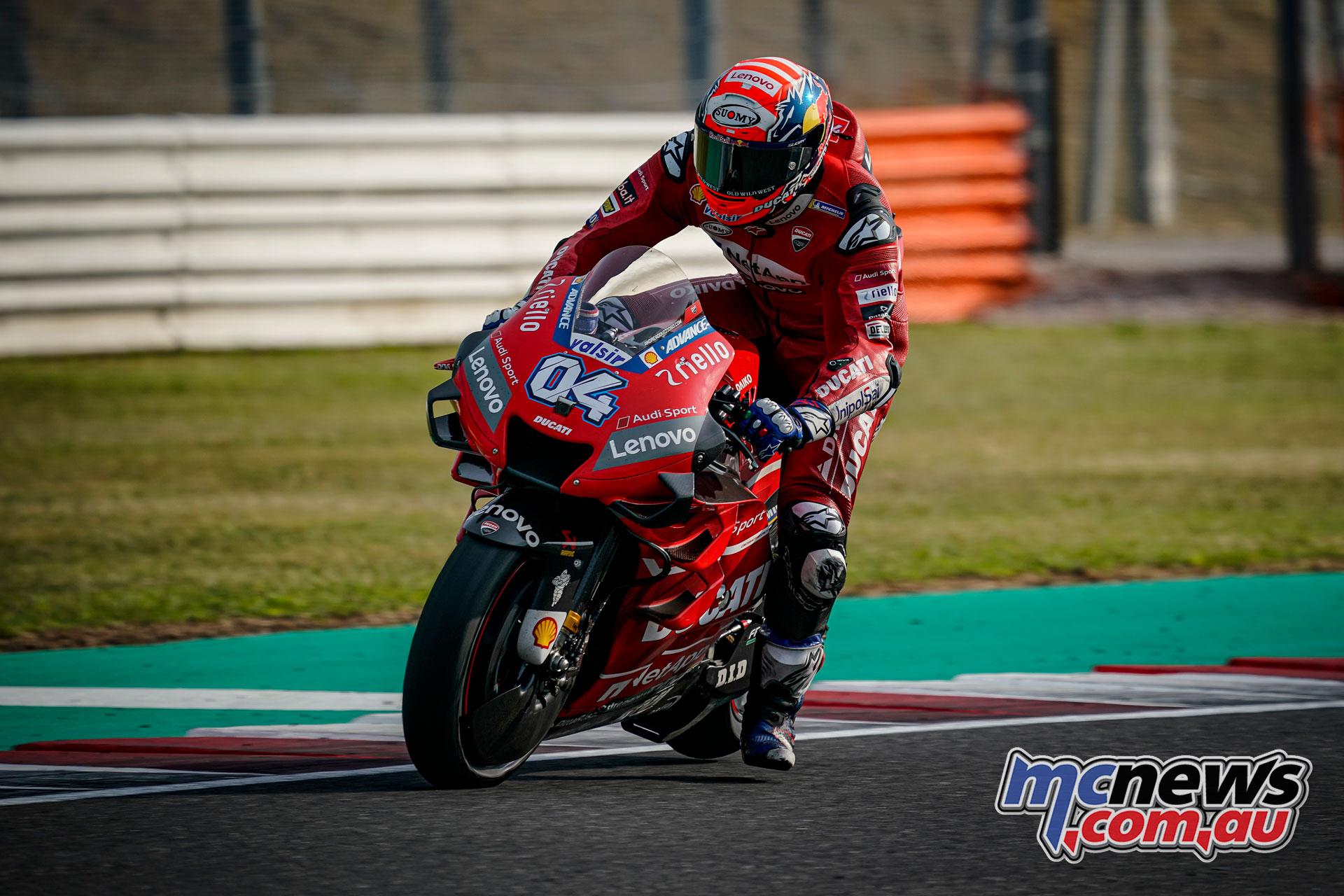 MotoGP Test Misano D Andrea Dovizioso