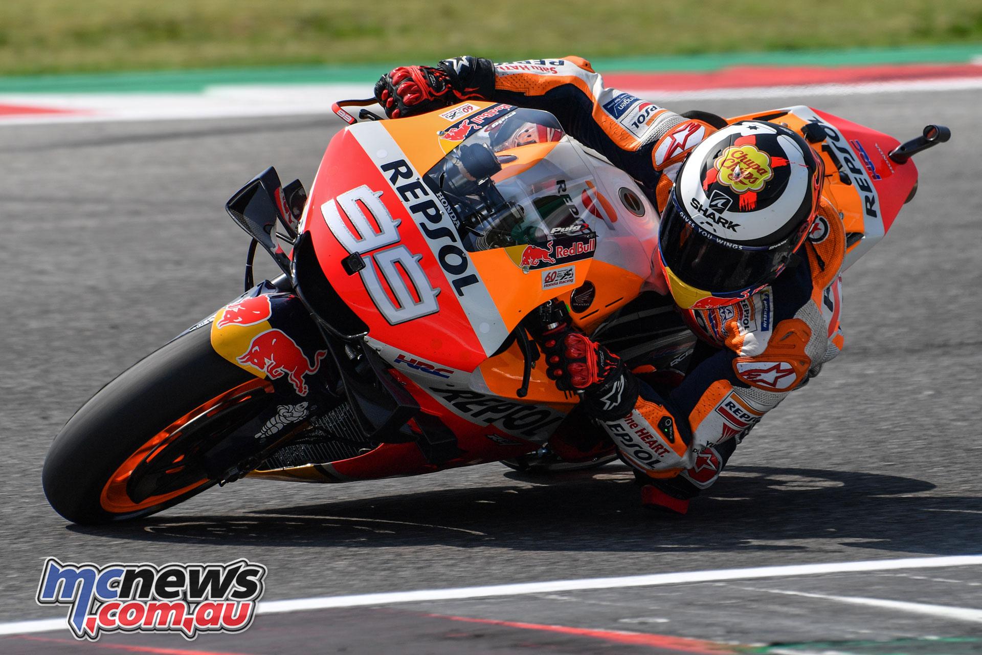 MotoGP Test Misano D Lorenzo