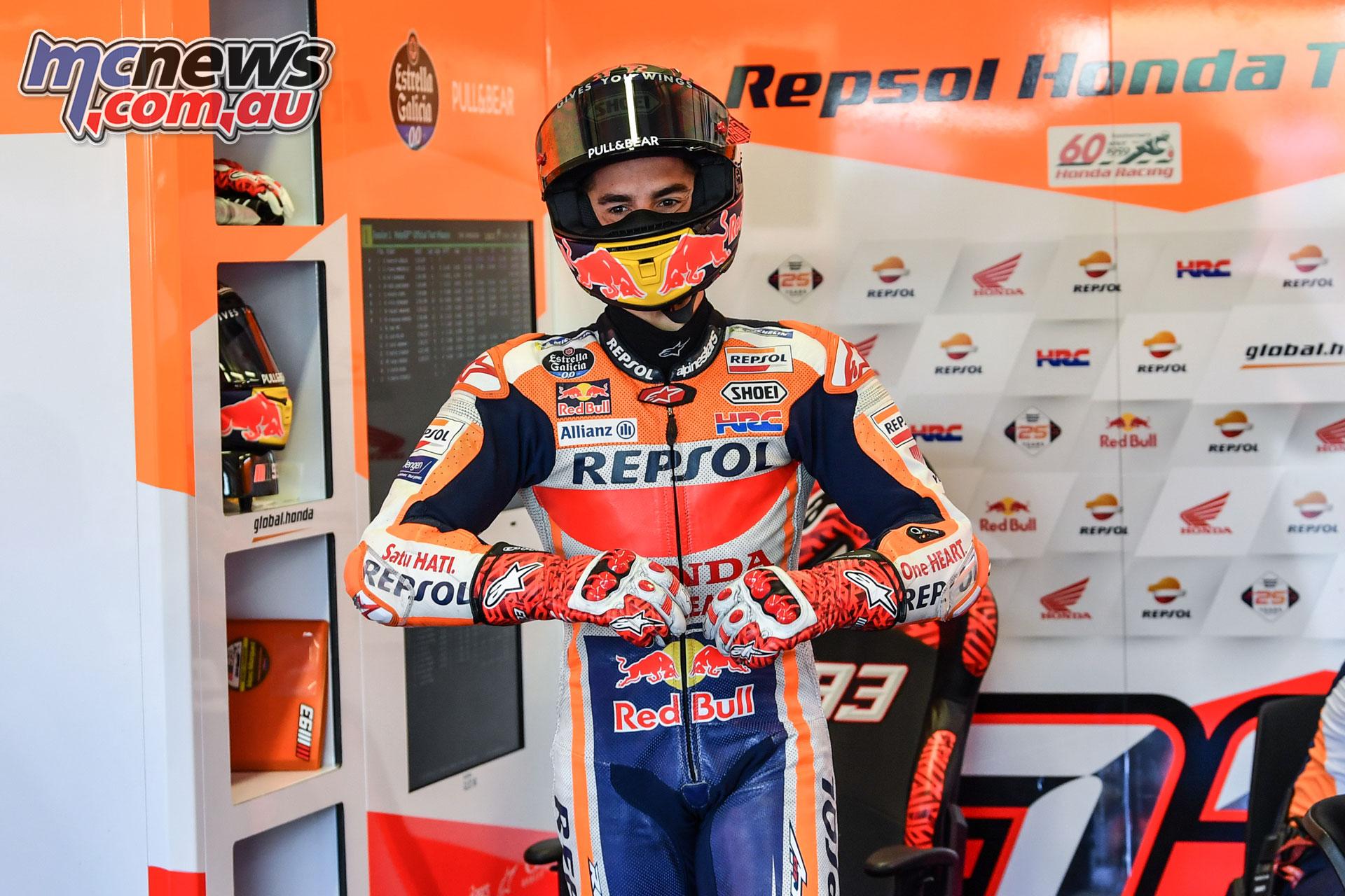 MotoGP Test Misano D Marquez