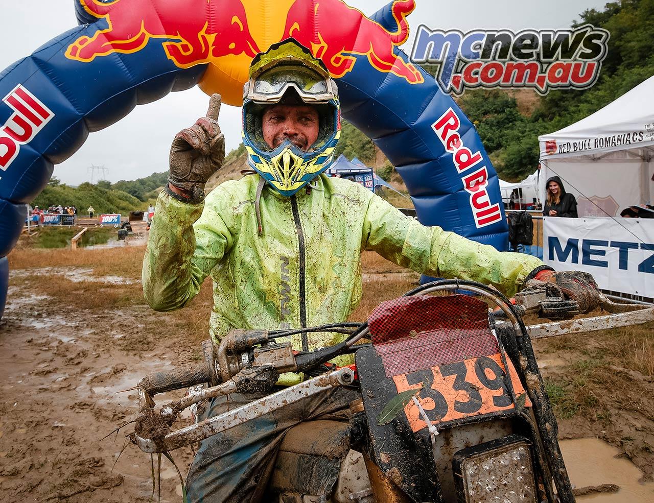 Red Bull Romaniacs Final Bronze Winner Marcin Weglarz