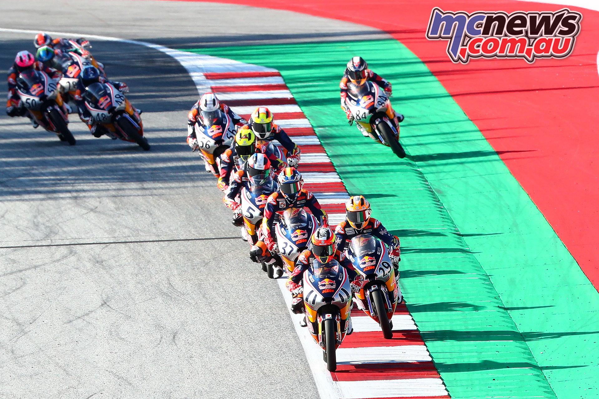 Red Bull Rookies Cup Rnd Austria Alex Escrig