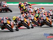 Red Bull Rookies Cup Rnd Austria Sun field