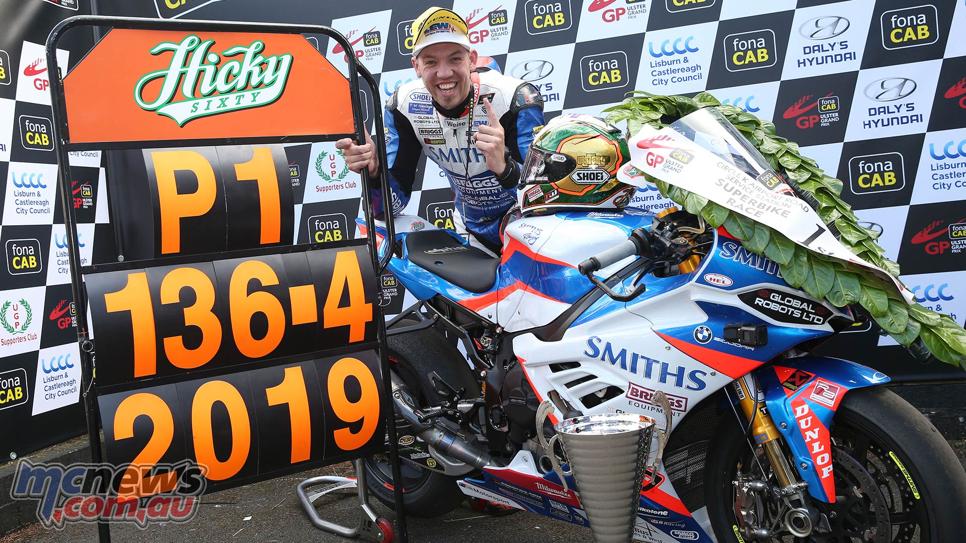 Ulster GP SBK Peter Hickman Record