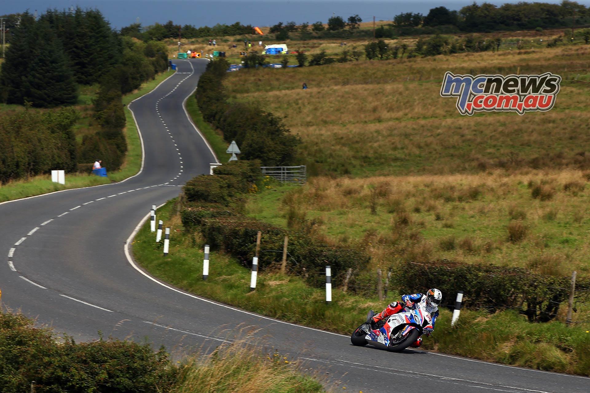 Ulster Grand Prix Dundrod Superbike Hickman