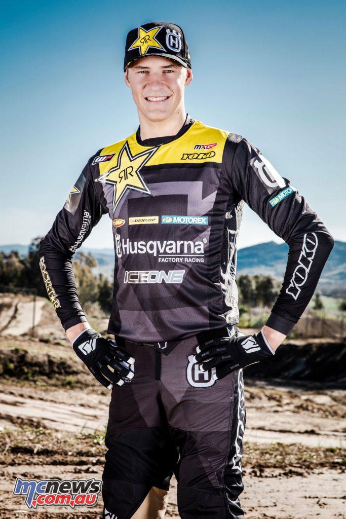 Rockstar Energy Husqvarna Factory Racing Arminas Jasikonis