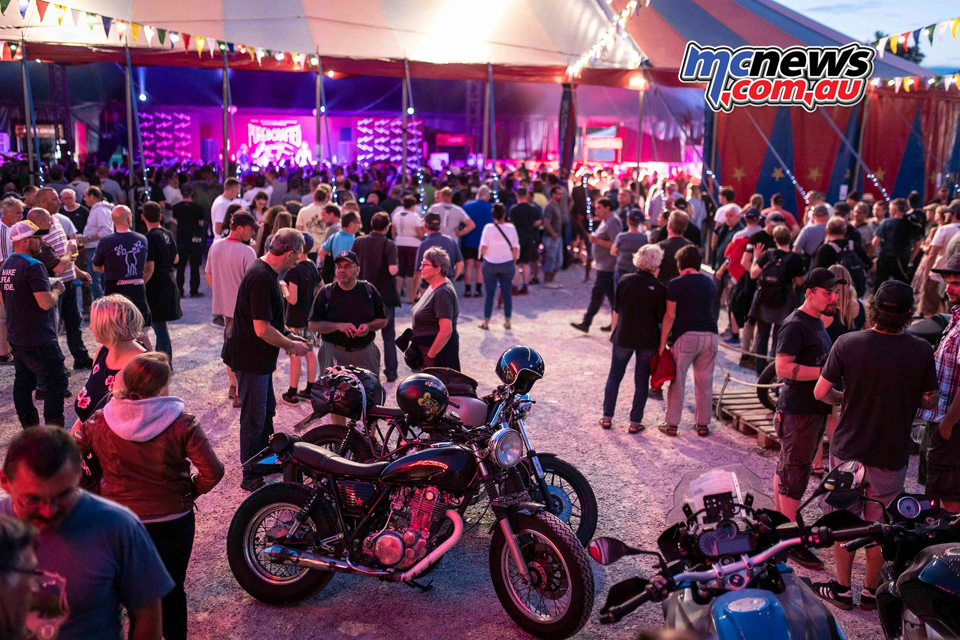 BMW Motorrad Days Evening