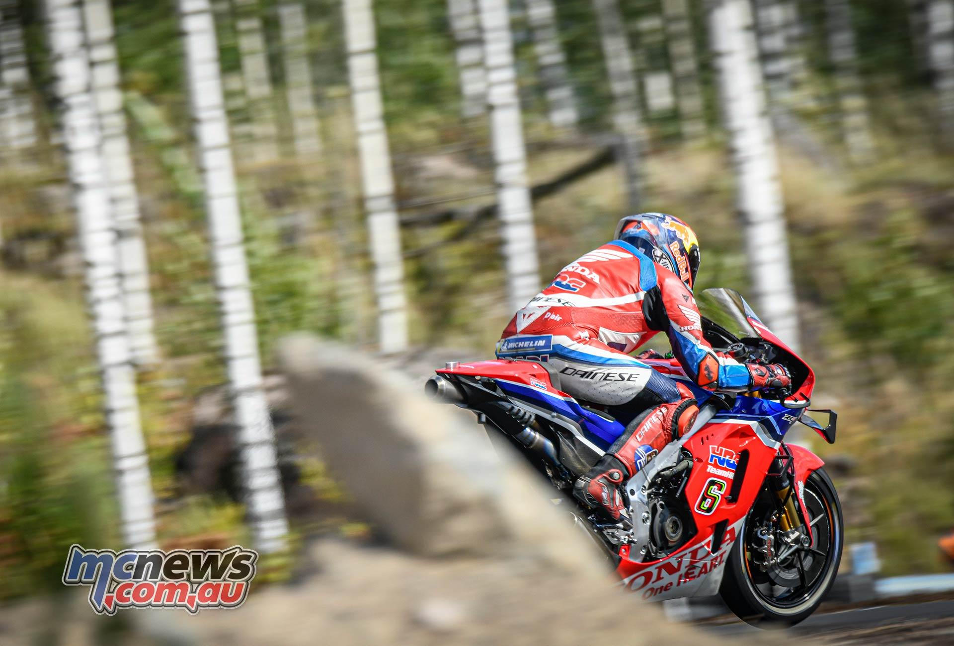 MotoGP KymiRing Test Finland Bradl