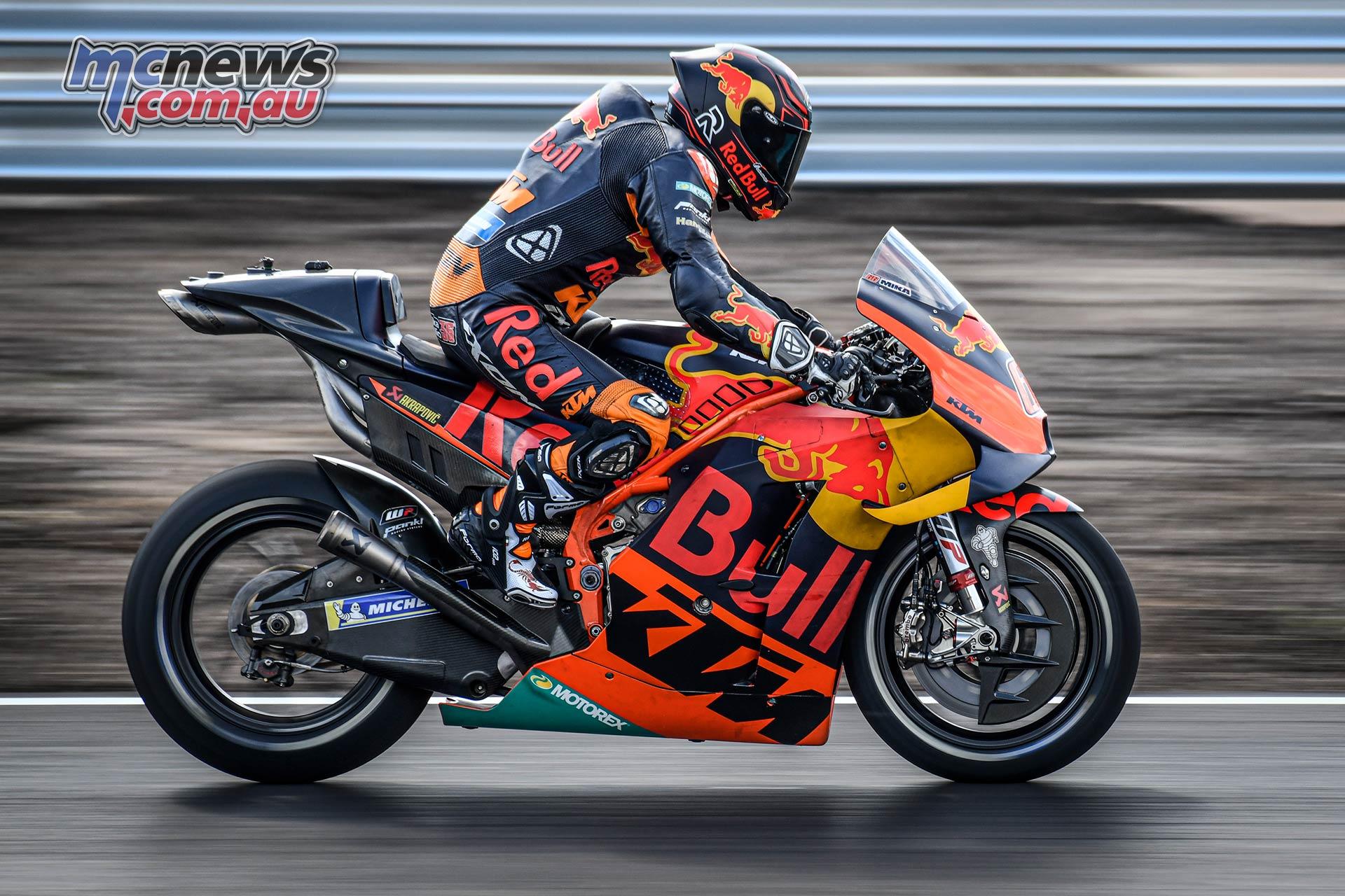 MotoGP KymiRing Test Finland Kallio