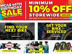 Motorcycle Accessories Supermarket August Sale