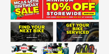 Motorcycle Accessories Supermarket August Sale
