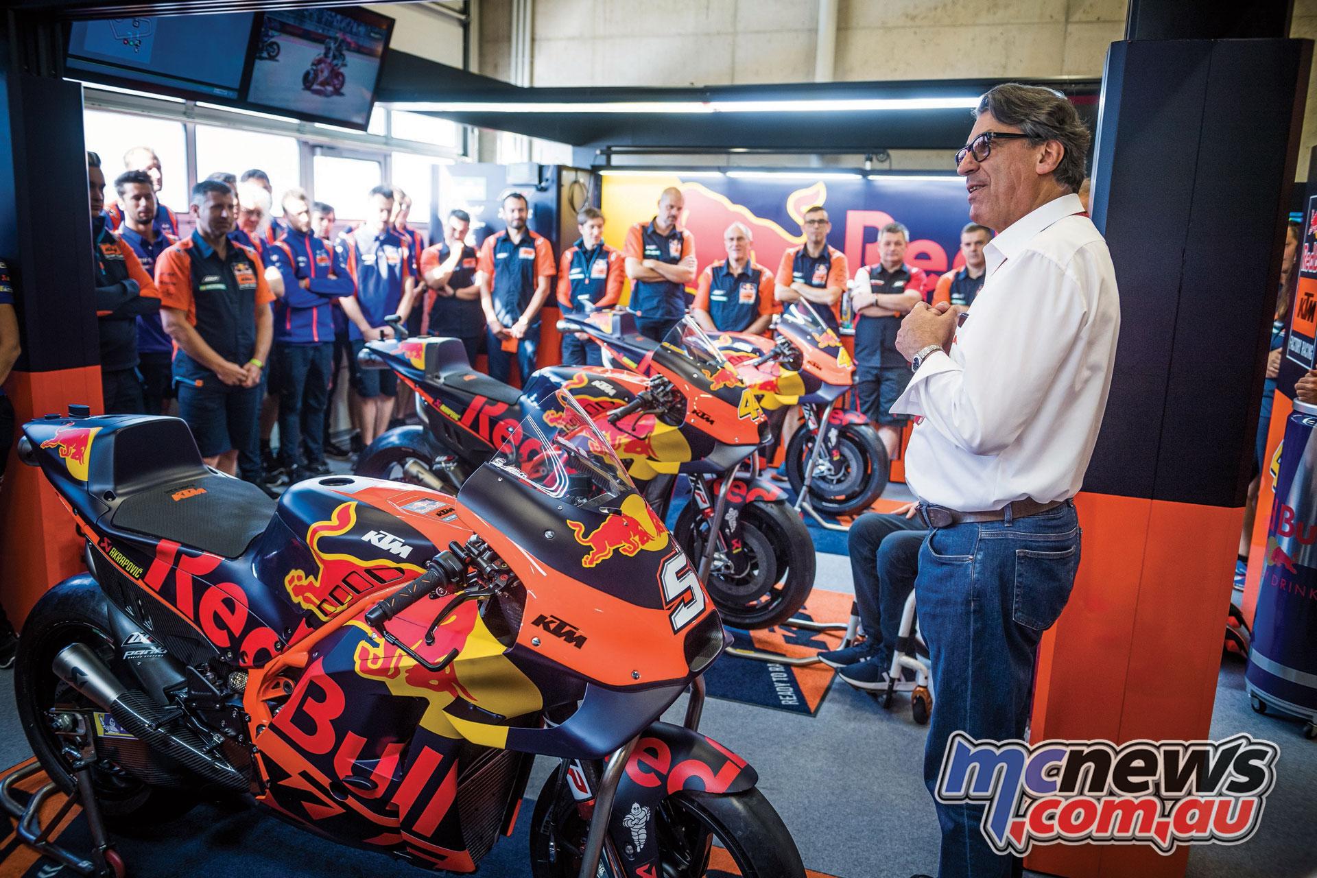 Stefan Pierer MotoGP Austria