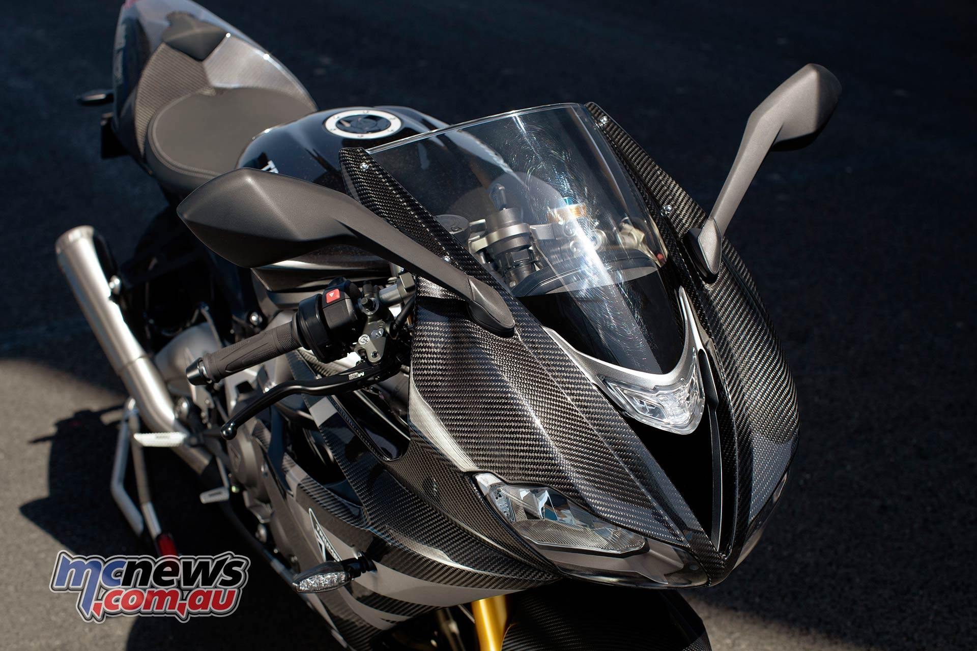 Triumph Daytona Moto Limited Edition Detail