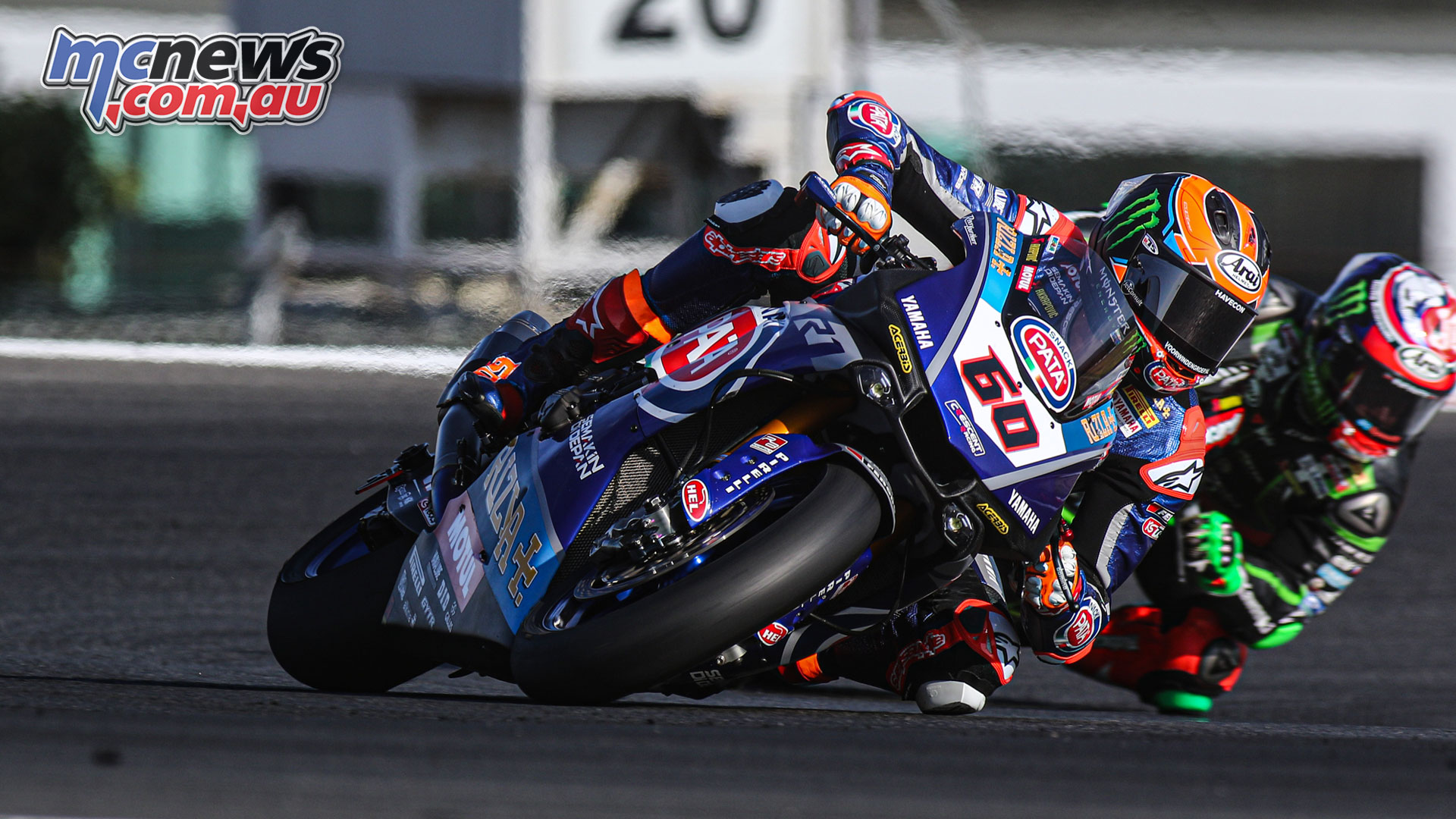 WorldSBK POR DWO Test Day WorldSBK FP Action VdMark