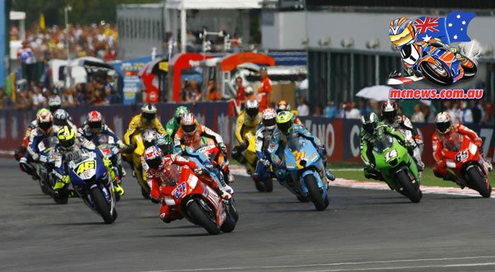 Misano MotoGP Start Stoner