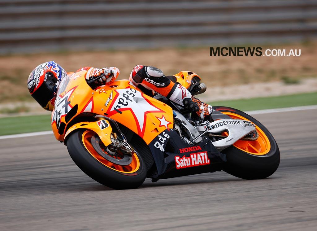 MotoGP Aragon Casey Stoner