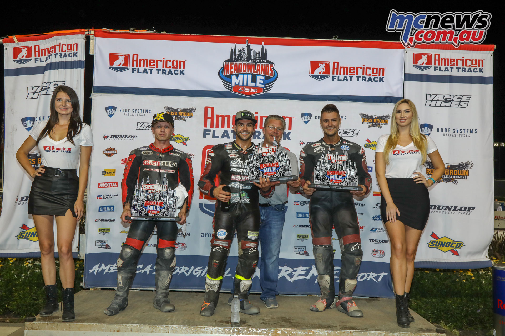 AFT Meadowlands Mile Twins Podium FA