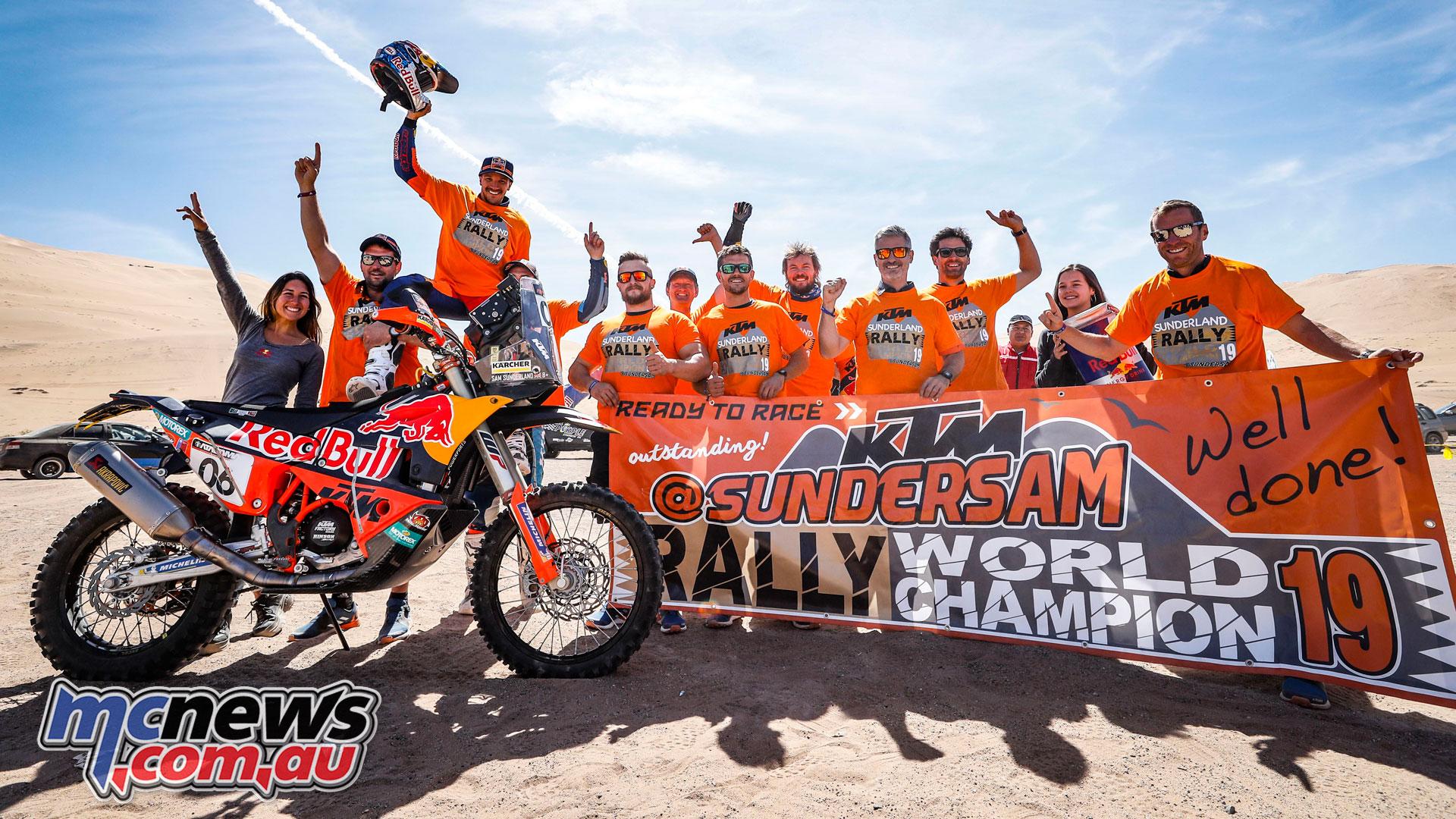 Atacama Rally Stage Sam Sunderland
