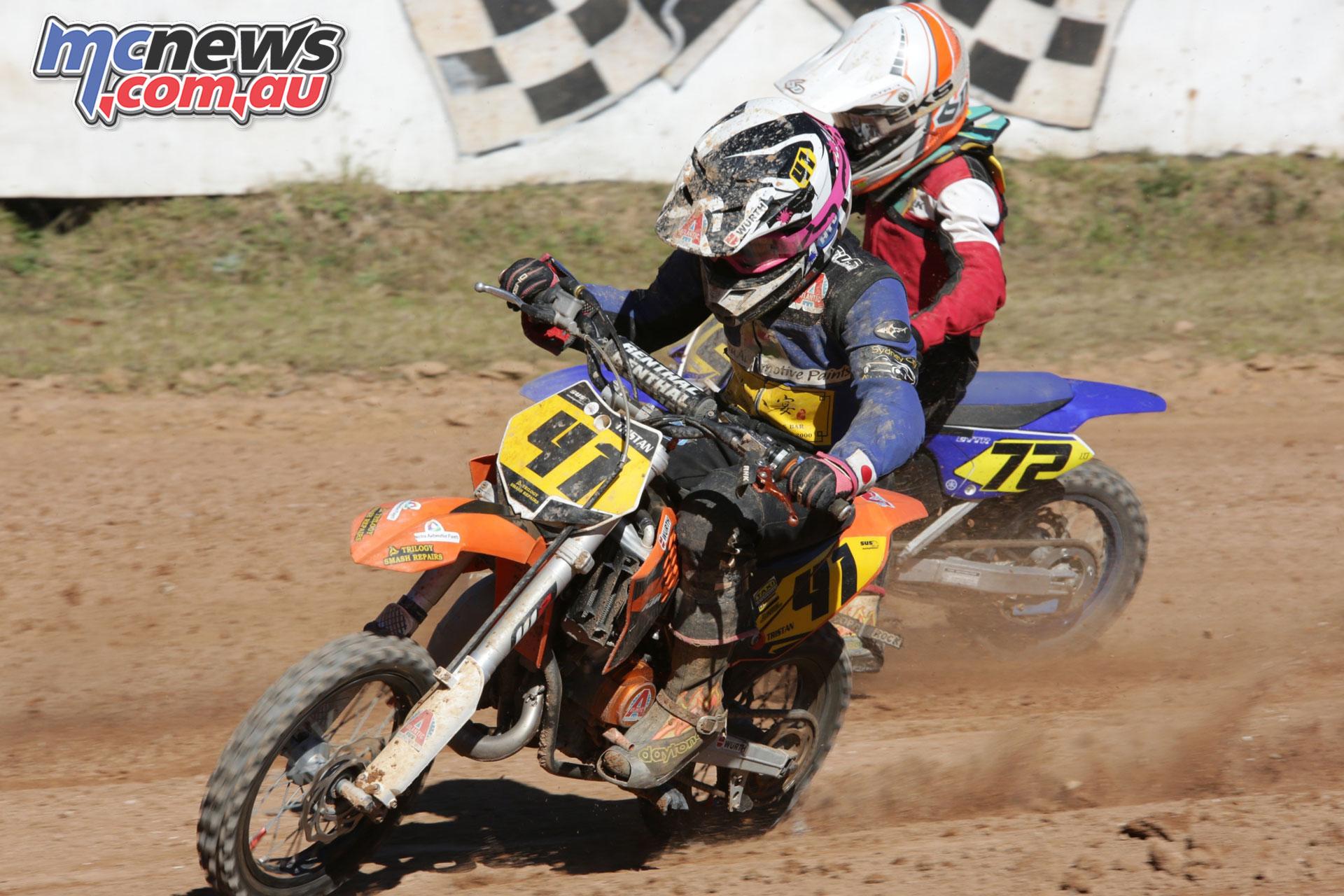 Australian Junior Dirt Track Championships Somersby ayres ImgDaveLamont