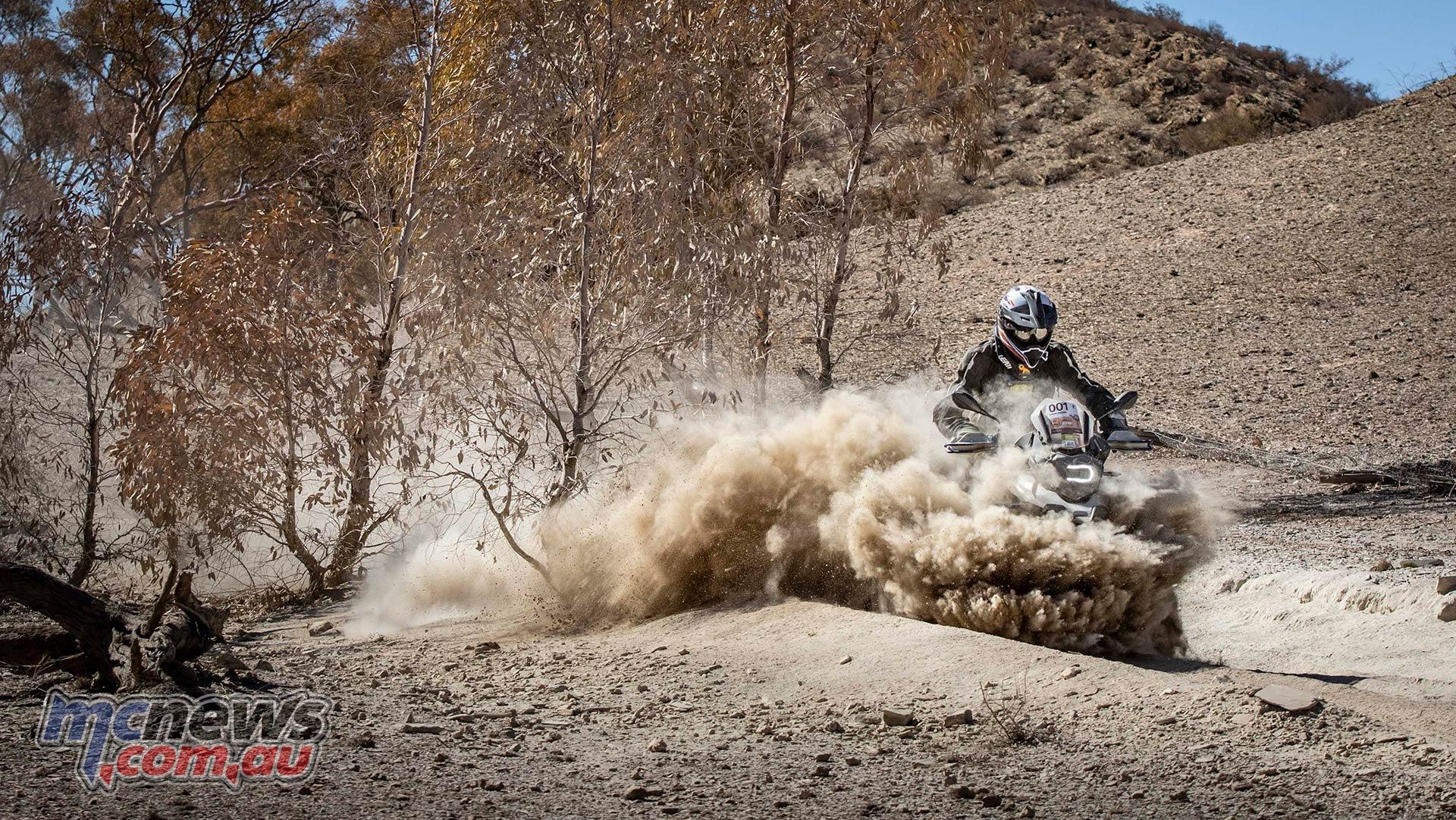 BMW GS Safari Enduro Damo Bulldust