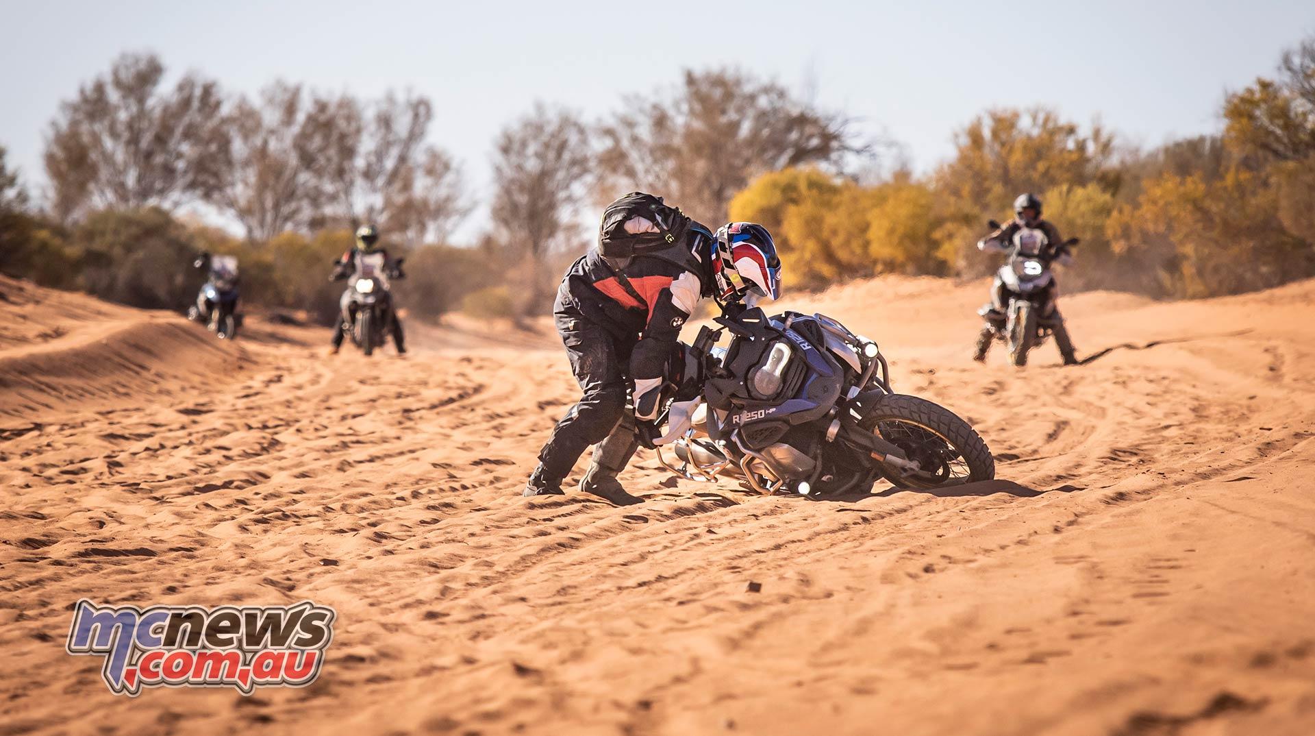 BMW GS Safari Enduro Damo Mount Dare Sand Drop