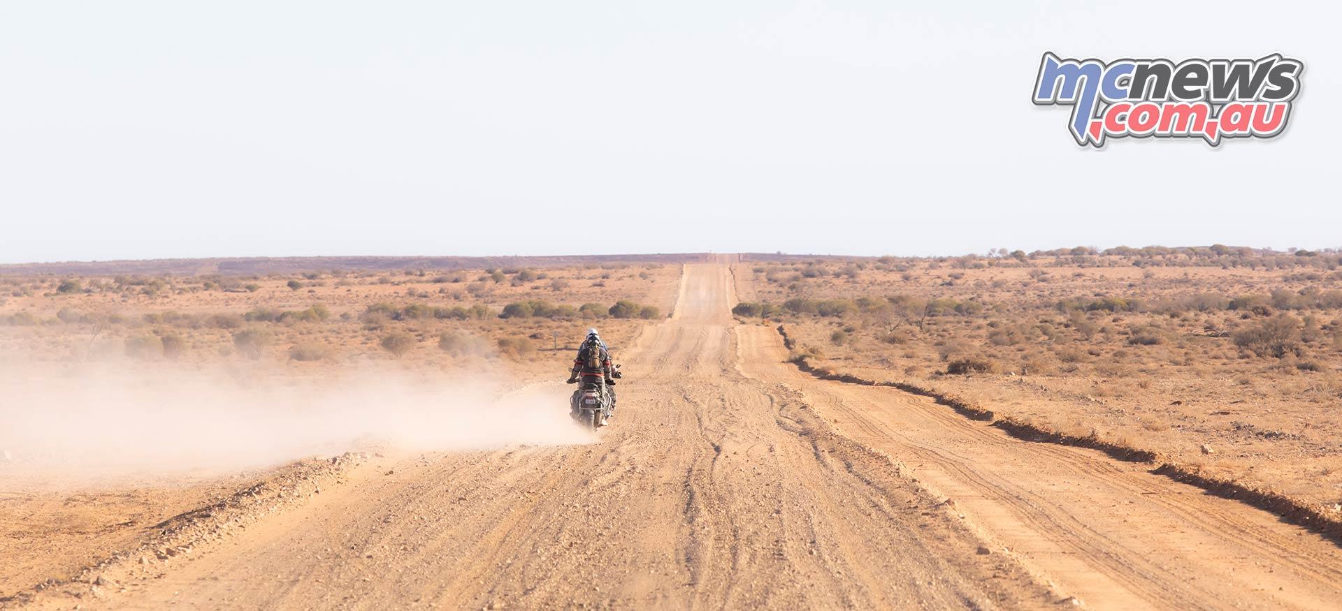 BMW GS Safari Enduro Damo Oodnadatta Track