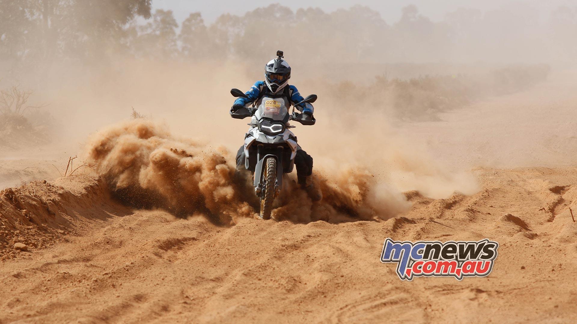 BMW GS Safari Enduro Day Dust