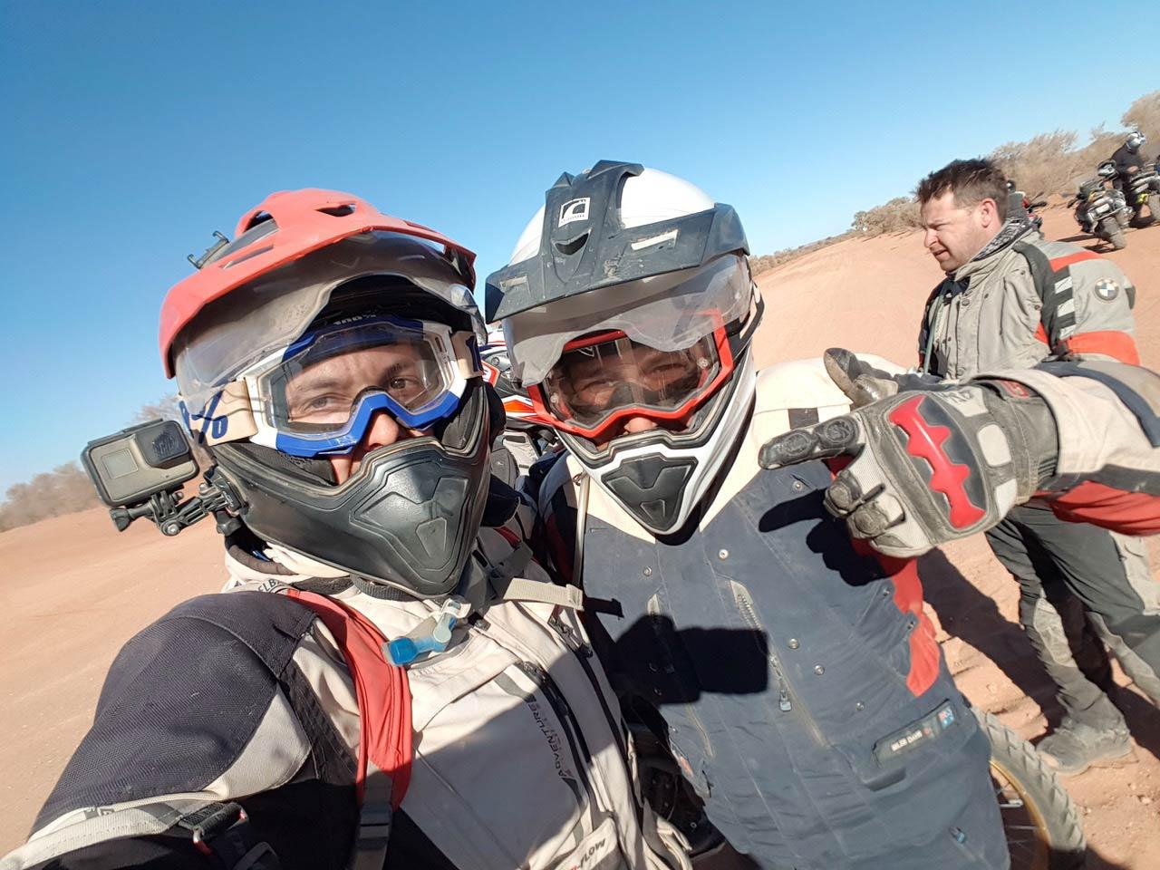 BMW GS Safari Enduro Shaun Terblanche Day riding with Miles Davis