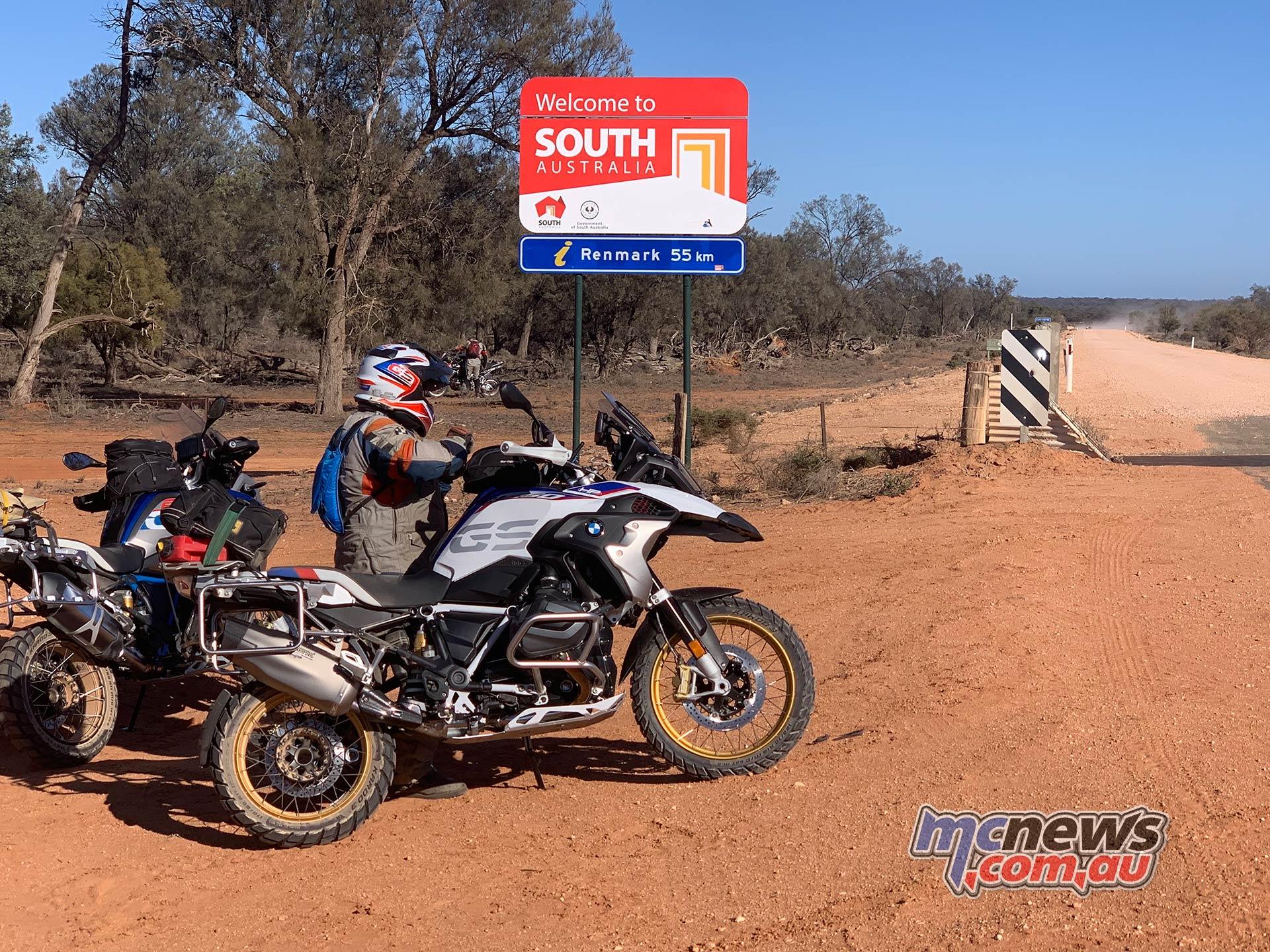 BMW GS Safari Enduro South Australia Borders